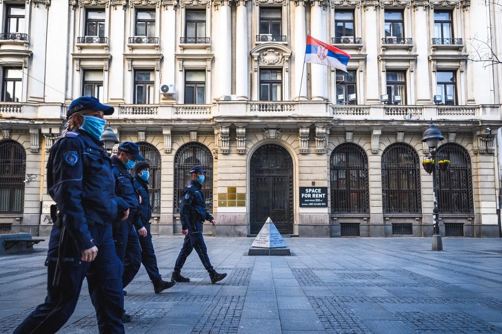 Policija u Beogradu
