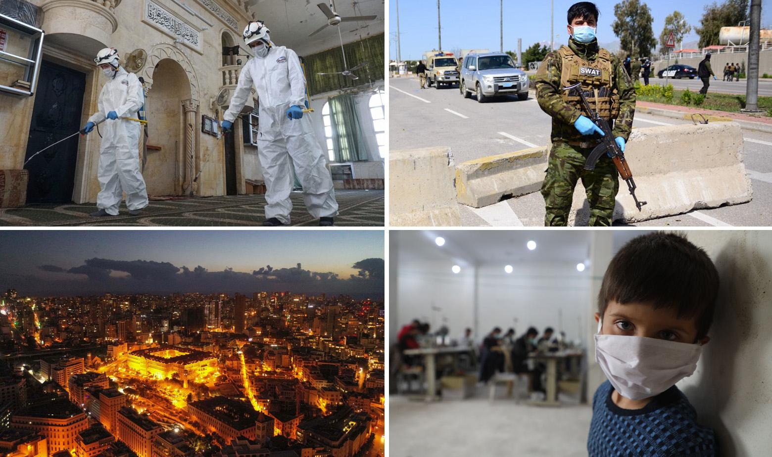 Prizori iz Sirije, Iraka i Libanona