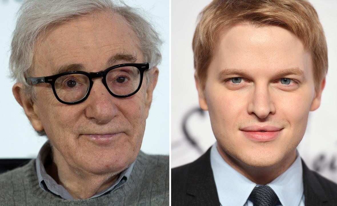Woody Allen (lijevo) i Ronan Farrow (desno)