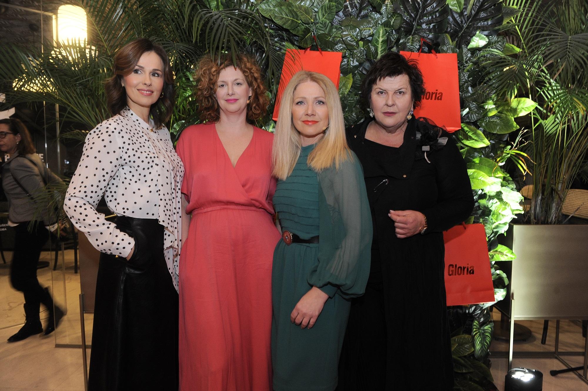 O svojim životnim iskustvima govorile su glumica Nina Violić, književnica i Glorijina kolumnistica Milana Vlaović Kovaček, odvjetnica Ljubica Matijević Vrsaljko, te Barbara Kolar kao moderatorica.