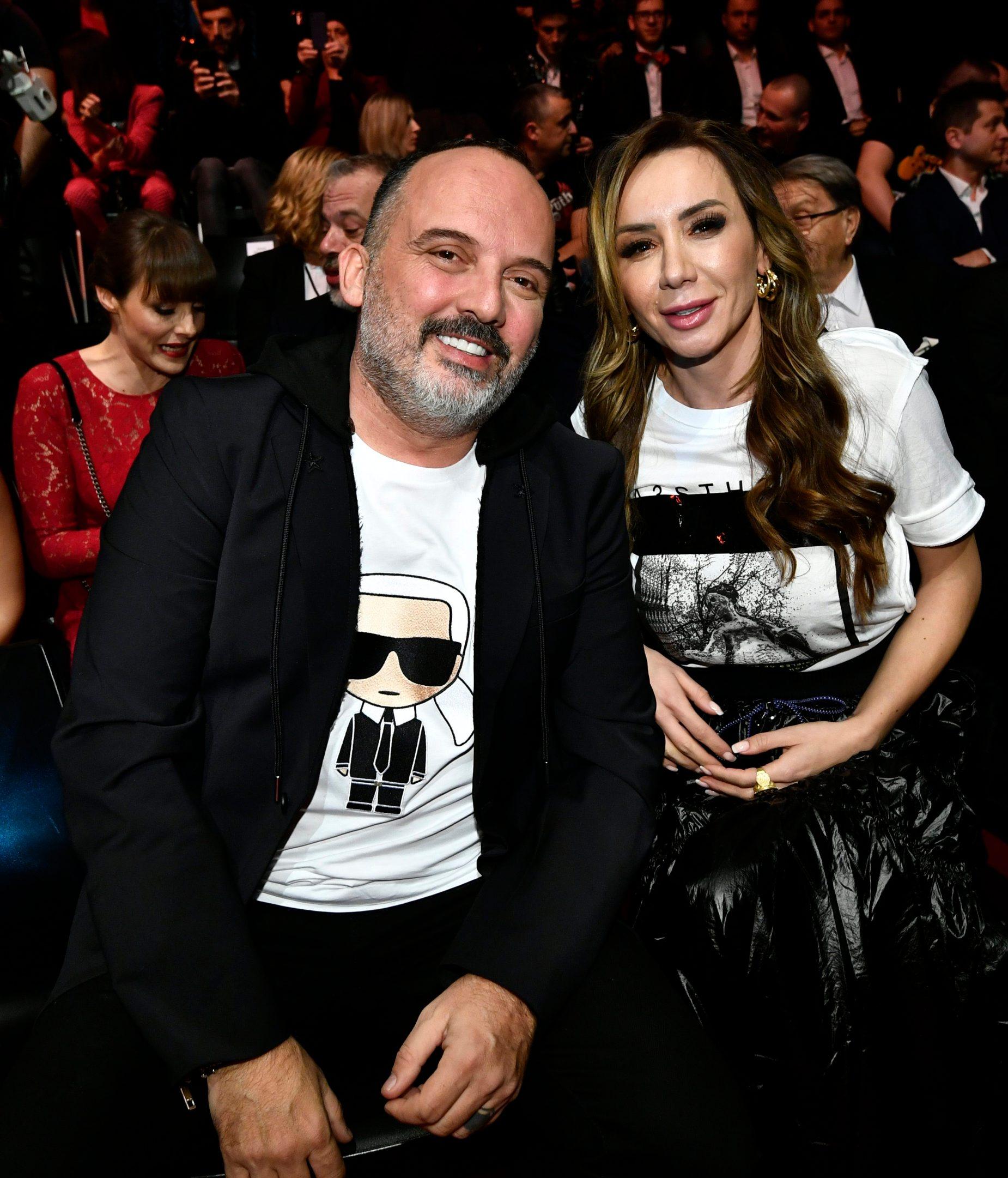 Tony Cetinski sa suprugom Dubravkom