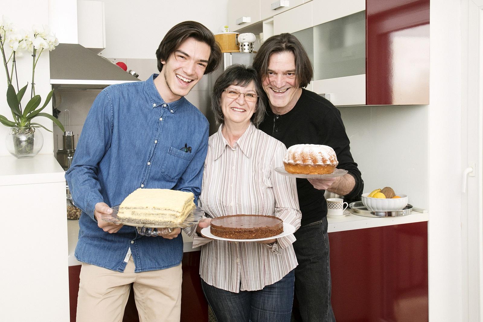 Slavko Juraga s obitelji