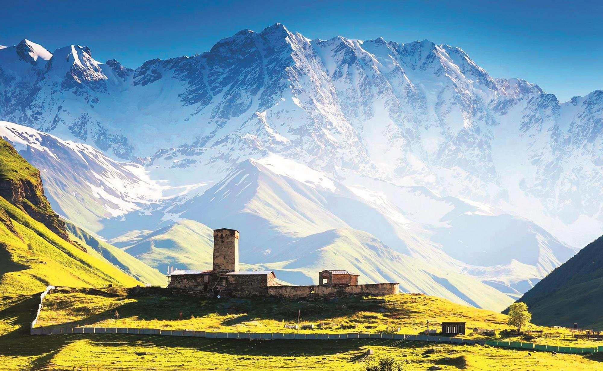 Manastir Lamaria iz 10. stoljeća izgrađen je na 2200 metara nadmorske visine.