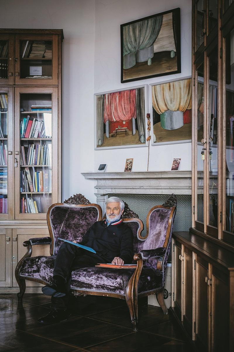 Zagreb, 050220. Teatrolog Boris Senker. Foto: Neja Markicevic / CROPIX