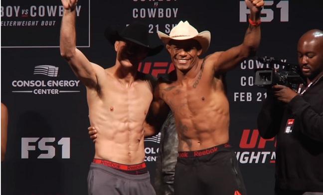 Donald Cerrone i Alex Oliveira