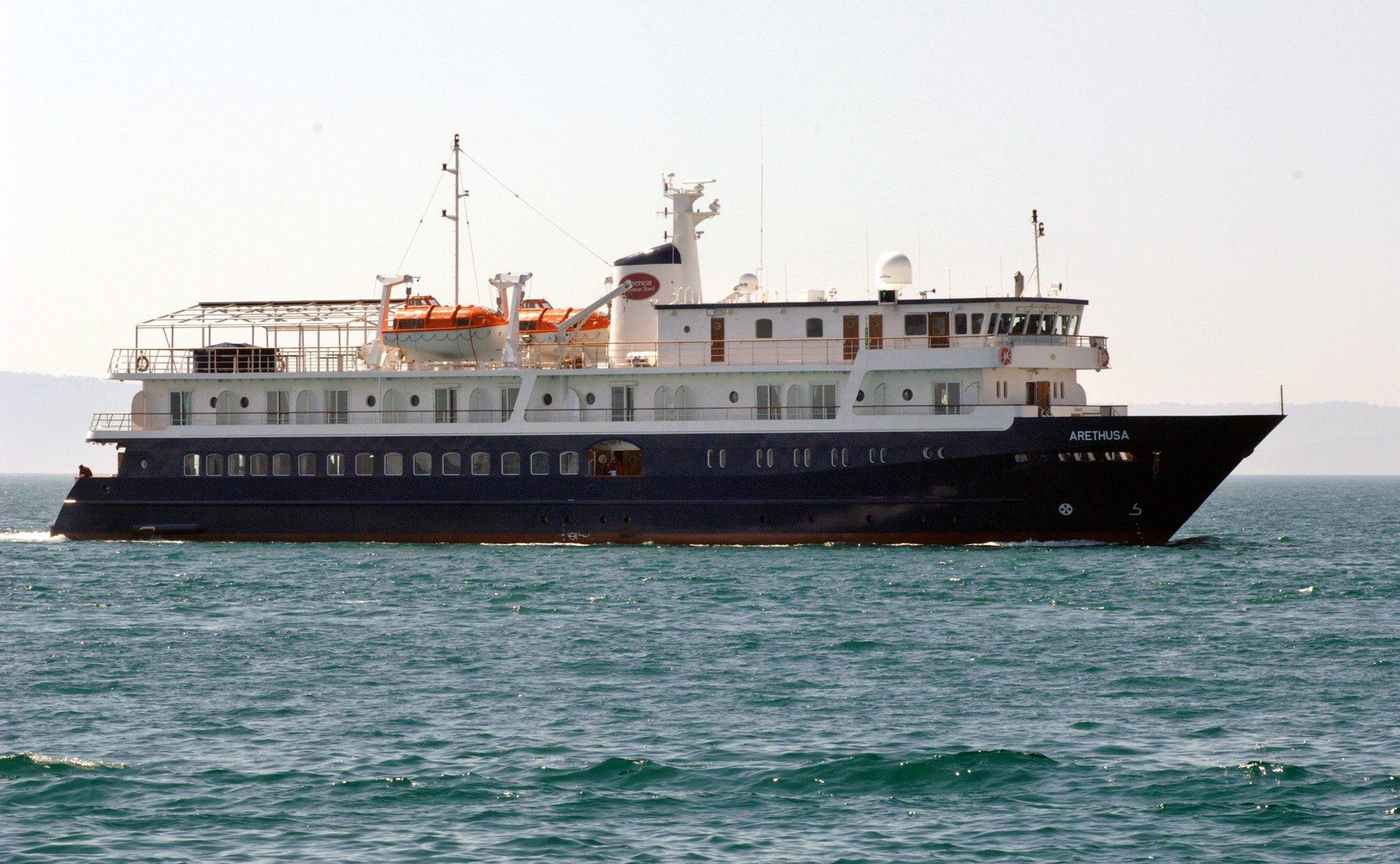 brod Arethusa, arhivska fotografija