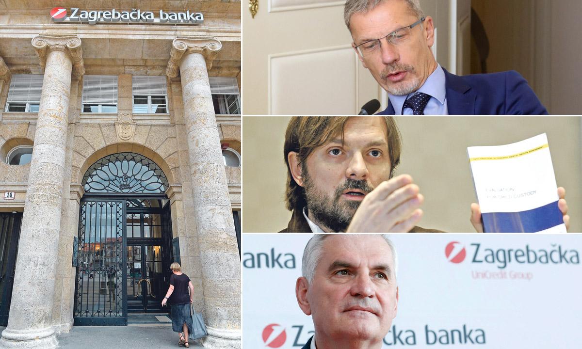 Boris Vujčić, Milan Popović, Miljenko Živaljić