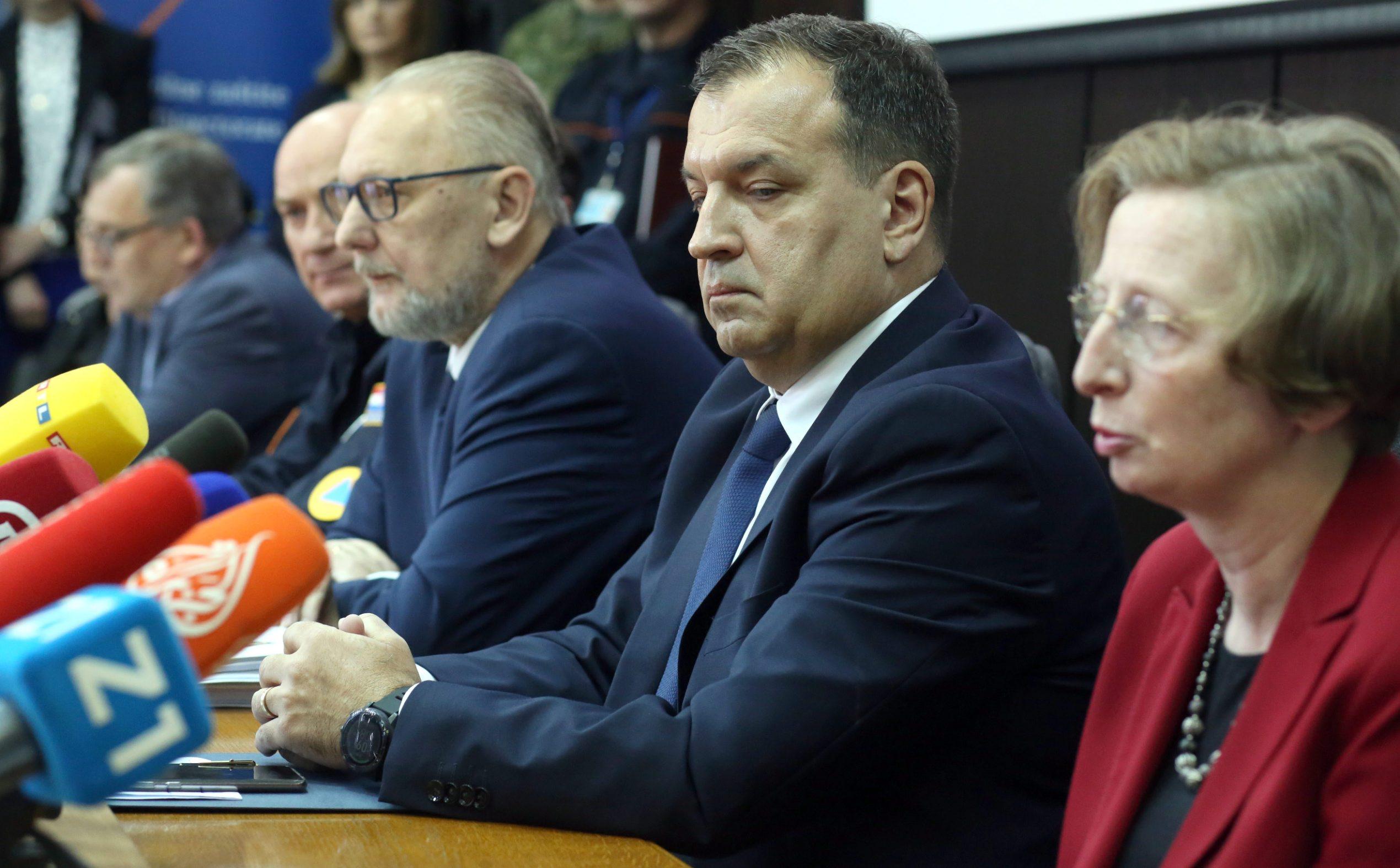 Davor Božinović, Vili Beroš, Alemka Markotić