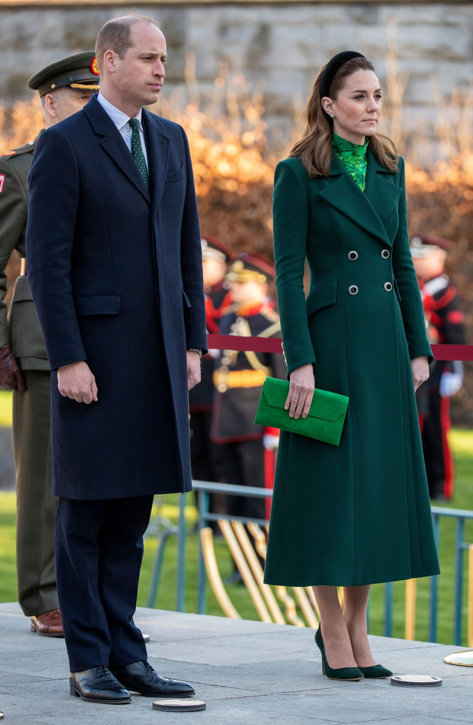 Prince William and Catherine Duchess of Cambridge lay a wreath at the Garden of Remembrance in Dublin Prince William and Catherine Duchess of Cambridge visit to Ireland - 03 Mar 2020 A place of remembrance and reflection, the Garden of Remembrance in Dublin is dedicated to those who gave their lives for Irish independence., Image: 502814739, License: Rights-managed, Restrictions: , Model Release: no, Credit line: Tim Rooke / Shutterstock Editorial / Profimedia