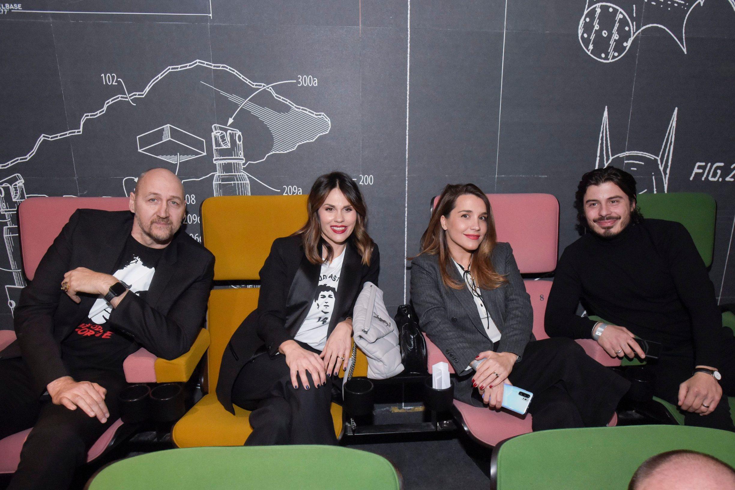 Dino i Viktorija Rađa u društvu Marijane Batinić i njezina supruga Mateja Pašalića