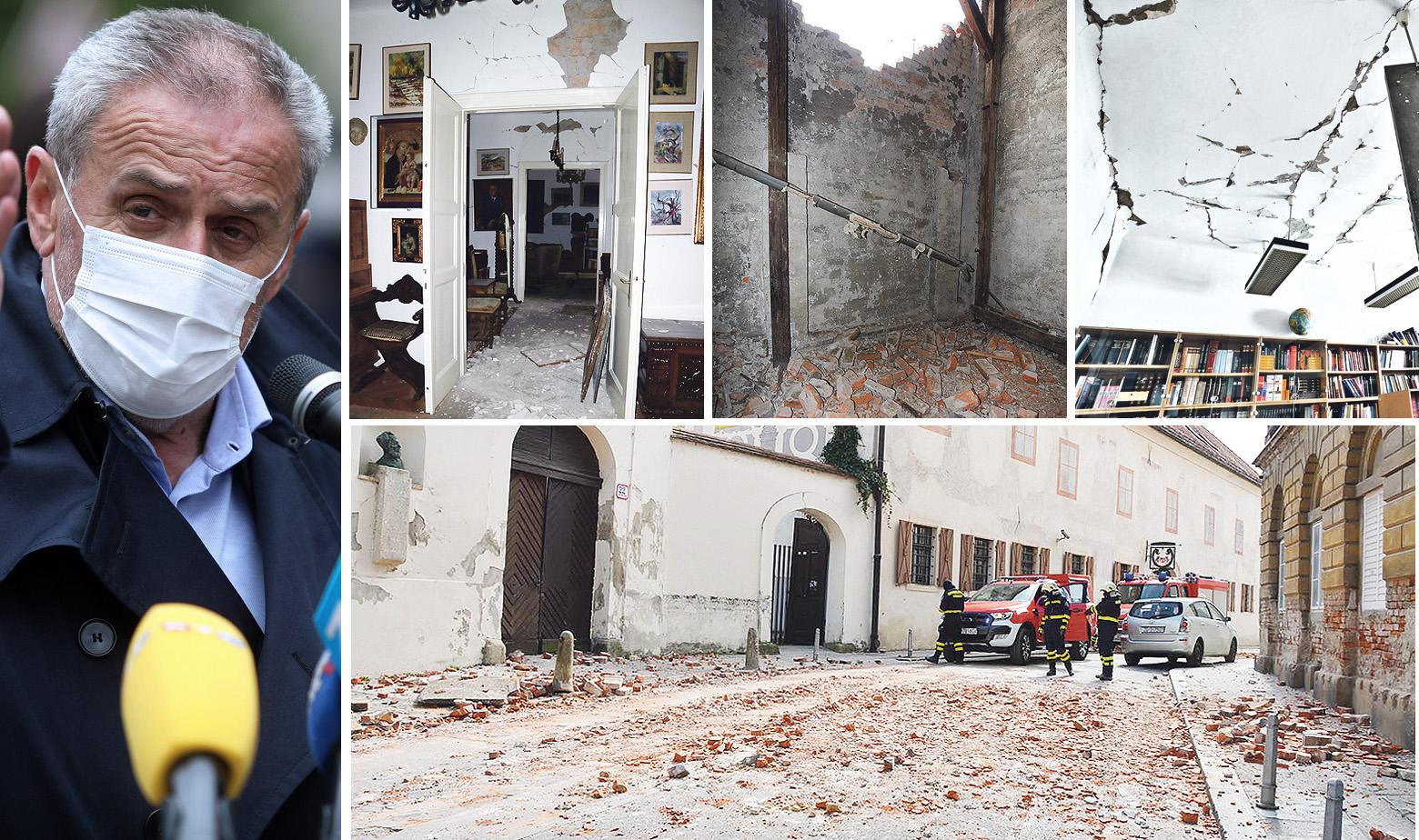 Milan Bandić i šteta u Zagrebu nakon potresa