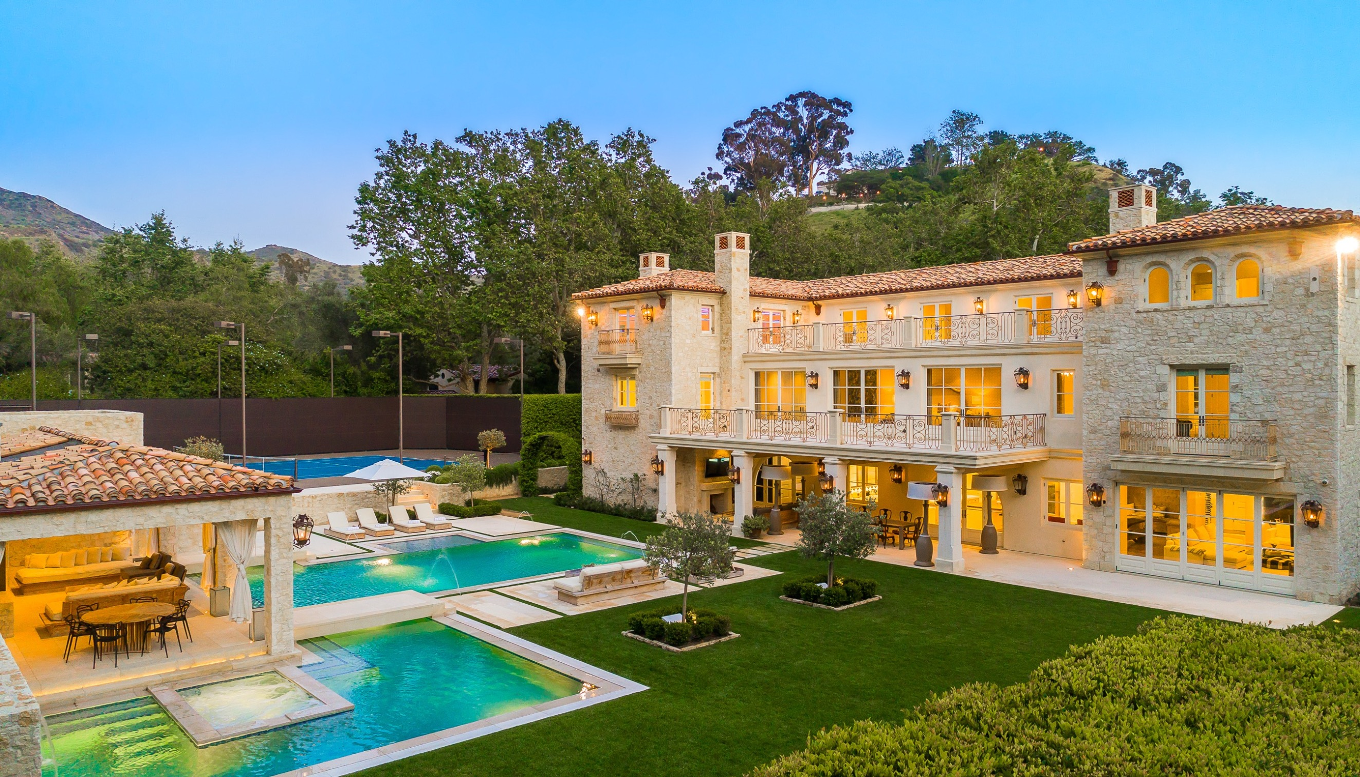 This is the stunning Malibu mansion where Harry and Meghan Markle are reportedly planning to stay to test out Southern California living post Megxit. The Sussexes  who officially step down as senior royals on March 31  are said to be planning a trip to Petra Manor, which costs an eye-watering ,900-a-night to rent. The couple are said to be keen to have a base in California, and this property will give them the chance to experience what living in the state would be like. The property boasts eight bedrooms, ten bathrooms, an outdoor pool and BBQ area, a home movie theater, dance studio and more. It is hosted by Stay Awhile Villas. While the companys owner wouldnt confirm Meghan and Harrys stay, he did explain to DailyMail.com: 'Stay Awhile Villas is often contacted by high profile families seeking to test neighborhoods throughout Los Angeles before making any move permanent. 'This is the perfect property for anyone wanting to move to the area and Harry and Meghan will want to see if Malibu suits their lifestyle. 'The house is a short term rental, many people come to Malibu looking for a home and they will rent somewhere first to see if it makes sense for them and their family. The source added: 'The house is a short term rental, many people come to Malibu looking for a home and they will rent somewhere first to see if it makes sense for them and their family. 'Homes in Malibu don't come cheap so it wouldn't make any sense to buy so quickly. Harry and Meghan have said they plan to split their time between the UK and North America; they have spent the past few months at a stunning million waterside mansion on Canadas Vancouver Island with their baby son Archie. But according to insiders, the pair are also keen to have a California residence, where they would be nearby to Meghans mother Doria Ragland and have access to Silicon Valley and Hollywood. 10 Mar 2020, Image: 505138638, License: Rights-managed, Restrictions: World Rights, Model Release: no, Credit line: StayAWhileVillas/ MEGA / The Mega Agency / Profimedia