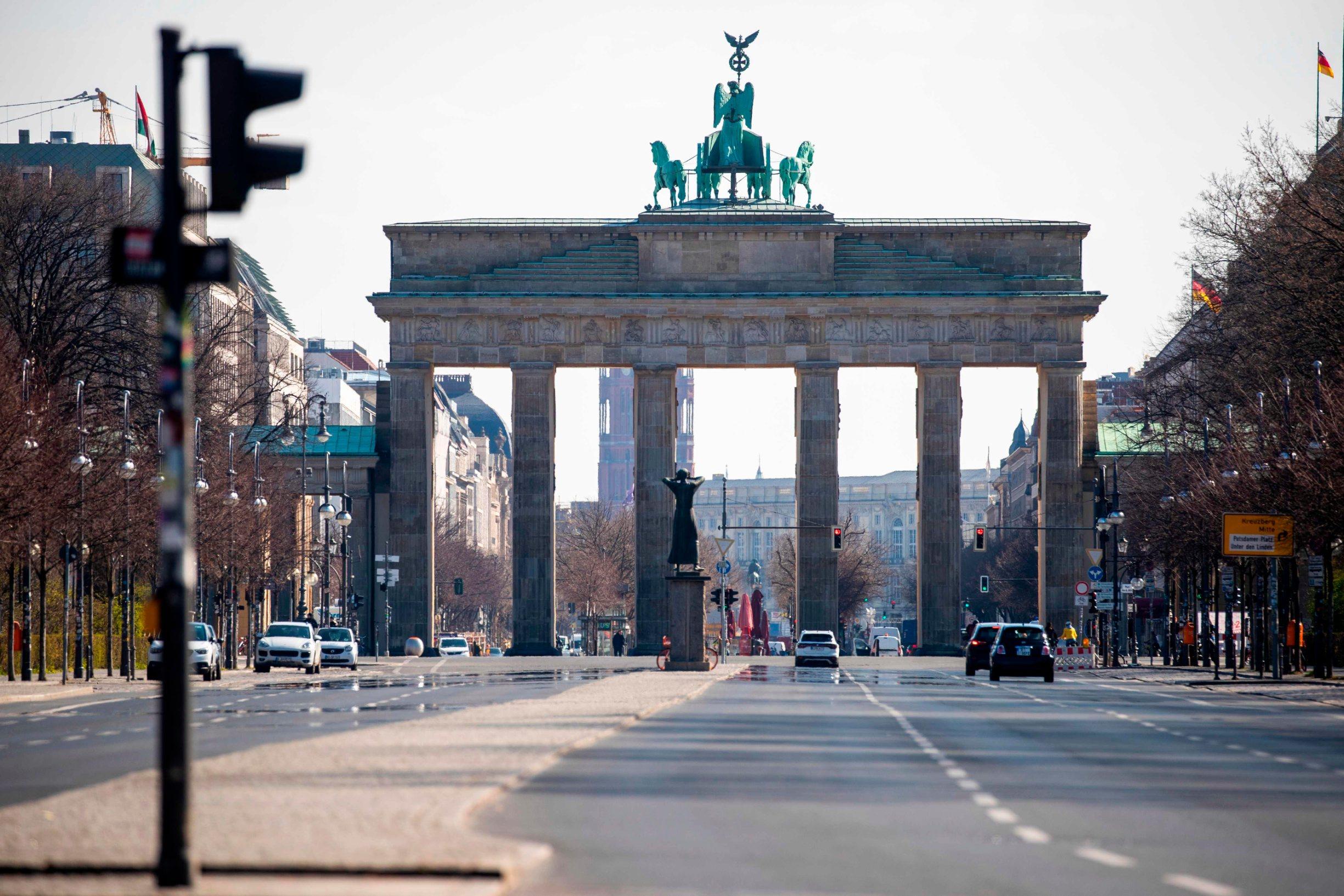 prazne ulice u Berlinu