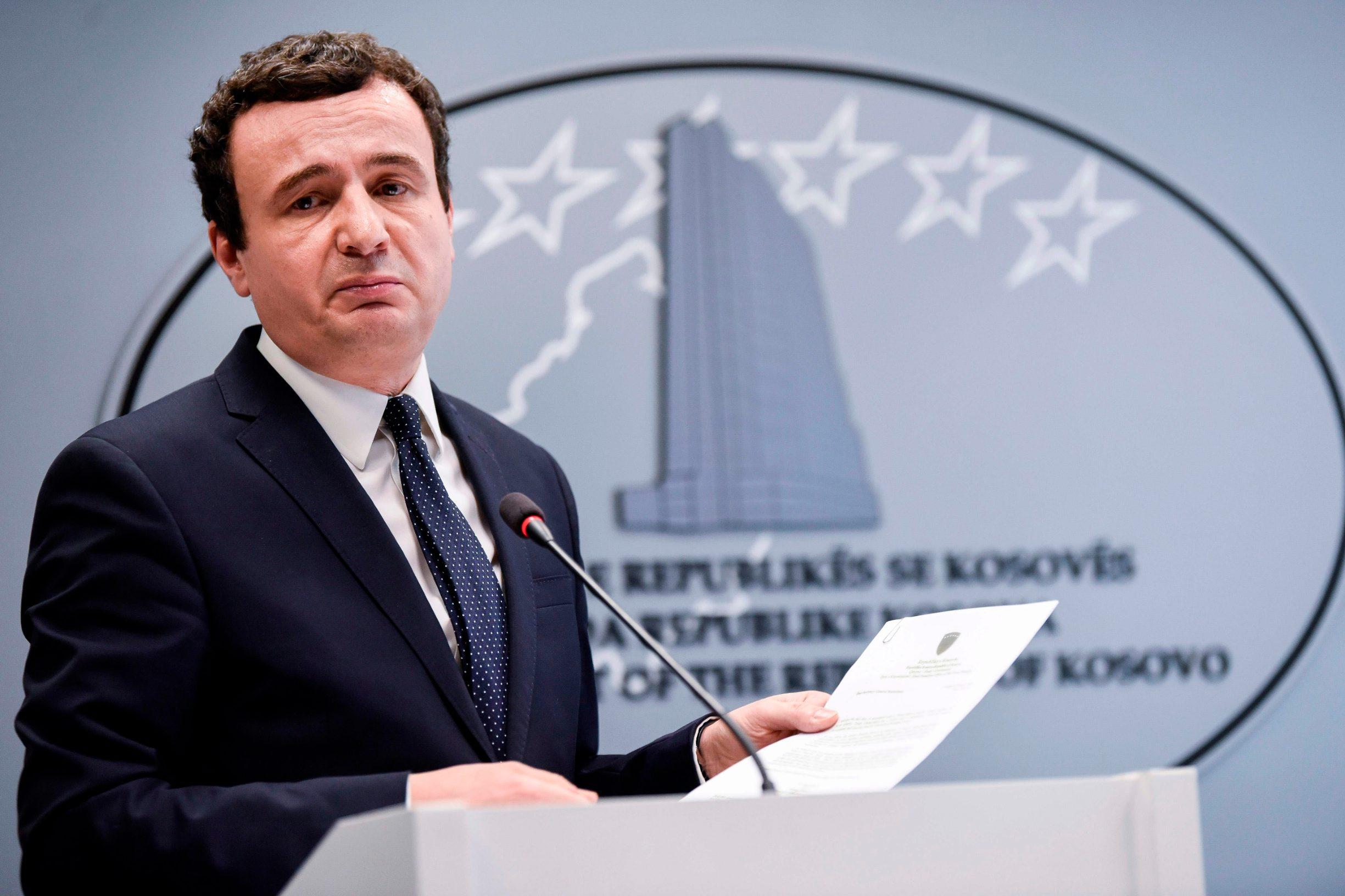 kosovski premijer Aljbin Kurti