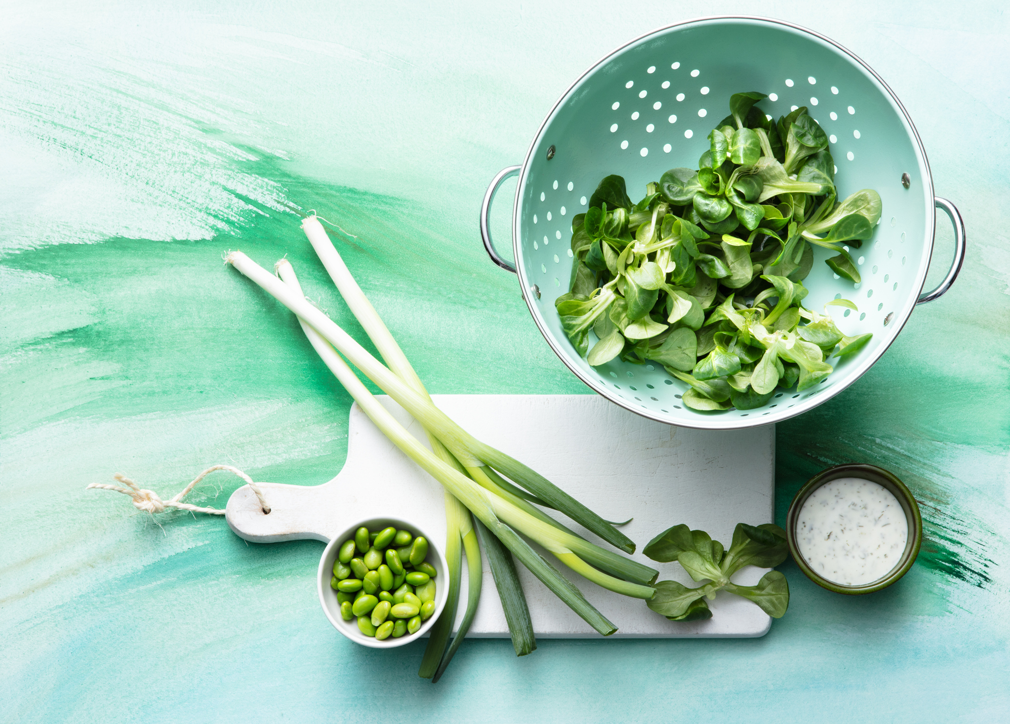 Salads: Ingredients for a Green Salad