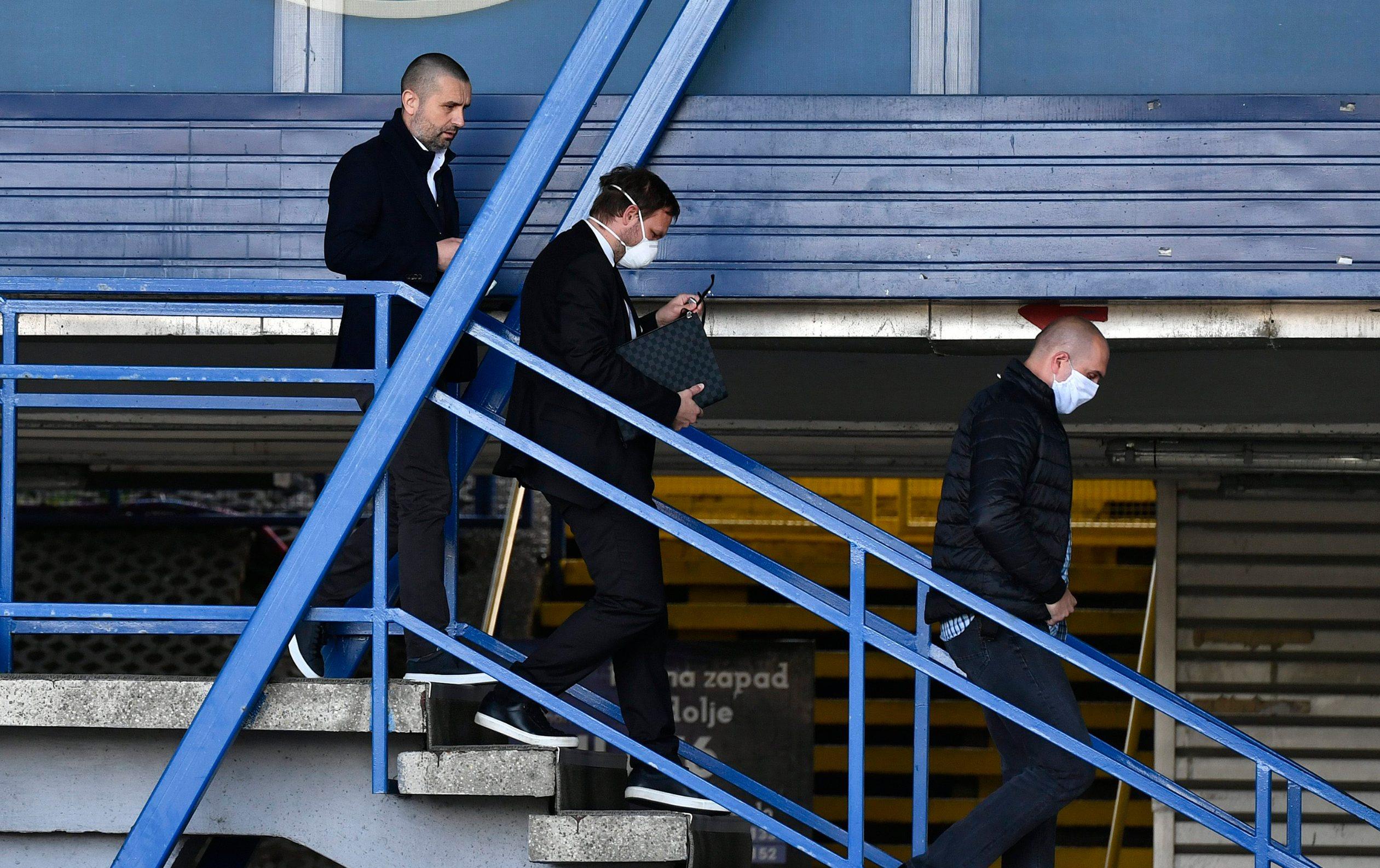 Zagreb, 160420. Stadion u Maksimiru. Odlazak Nenada Bjelice nakon sastanka s Upravom GNK Dinamo. Foto: Ronald Gorsic / CROPIX