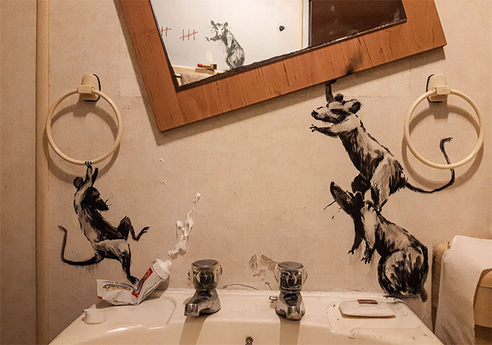 quarantine-working-from-home-bathroom-rats-banksy-5e97fc489d95f__700