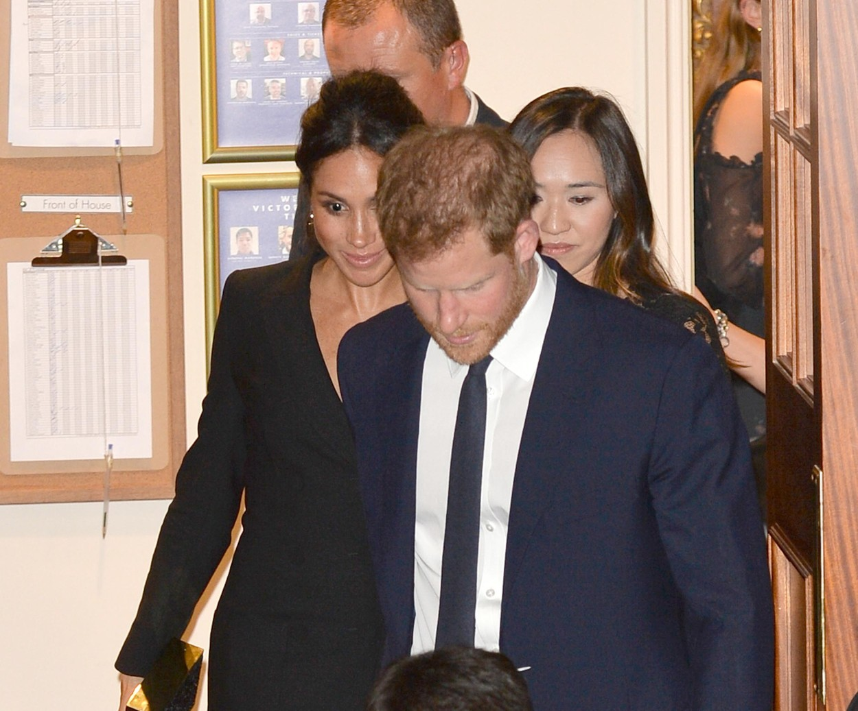 , London, England - 20180829 - Prince Harry and Meghan Duchess of Sussex Leaving a Performance of Hamilton at Victoria Palace Theatre  -PICTURED: Prince Harry and Meghan Duchess of Sussex -, Image: 384550933, License: Rights-managed, Restrictions: , Model Release: no, Credit line: INSTARimages.com / INSTAR Images / Profimedia