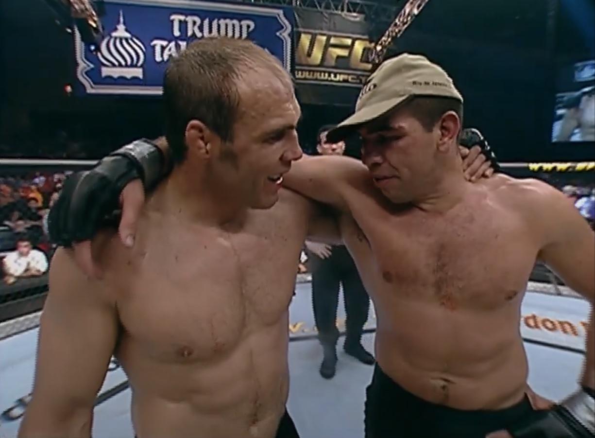 Randy Couture i Pedro Rizzo