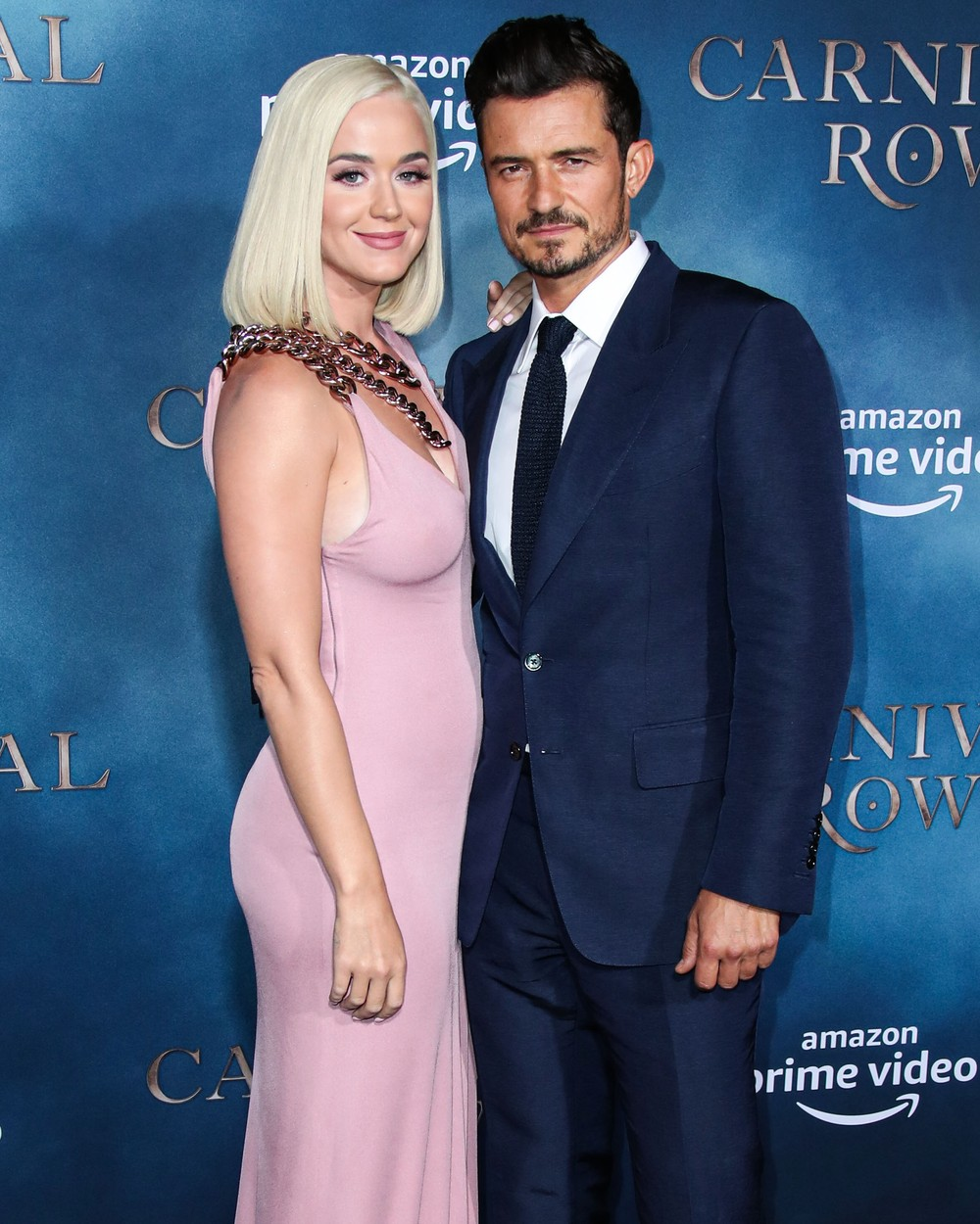 (FILE) Katy Perry Announces She's Expecting a Baby Girl with Orlando Bloom. Katy Perry announced on Friday that she and Orlando Bloom will be welcoming a baby girl this summer on Instagram. HOLLYWOOD, LOS ANGELES, CALIFORNIA, USA - AUGUST 21: Singer Katy Perry and fiance/actor Orlando Bloom arrive at the Los Angeles Premiere Of Amazon's 'Carnival Row' held at the TCL Chinese Theatre IMAX on August 21, 2019 in Hollywood, Los Angeles, California, United States., Image: 503461557, License: Rights-managed, Restrictions: WORLD RIGHTS - Fee Payable Upon Reproduction - For queries contact Avalon.red - sales@avalon.red London: +44 (0) 20 7421 6000 Los Angeles: +1 (310) 822 0419 Berlin: +49 (0) 30 76 212 251, Model Release: no, Credit line: Image Press Agency/Avalon.red / Pacific coast news / Profimedia