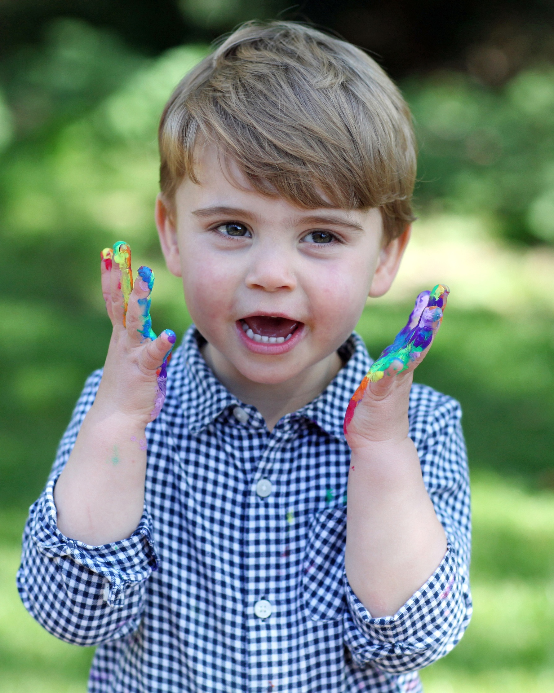 Prince Louis celebrates his second birthday at Anmer Hall, Norfolk, UK, on the 23rd April 2020. 23 Apr 2020, Image: 514657283, License: Rights-managed, Restrictions: NO United Kingdom, Model Release: no, Credit line: James Whatling / The Mega Agency / Profimedia