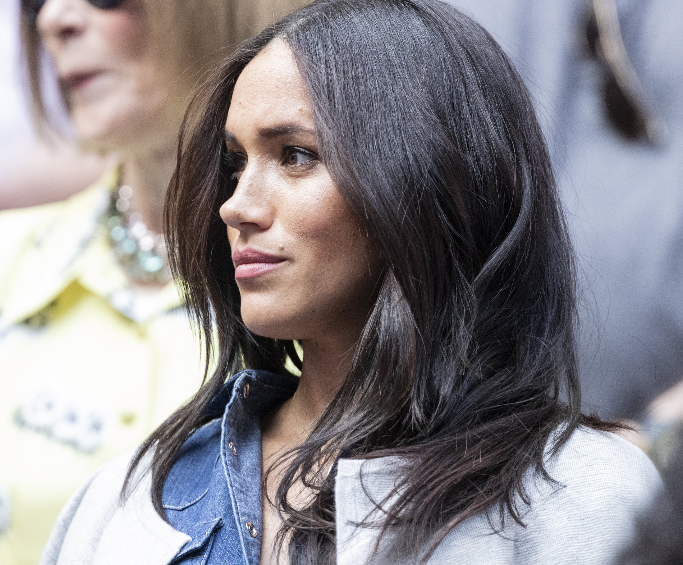 Duchess of Sussex Meghan Markle attends womens final match at US Open Championships between Serena Williams (USA) and Bianca Andreescu (Canada) at Billie Jean King. 07 Sep 2019, Image: 469676348, License: Rights-managed, Restrictions: NO Argentina, Australia, Bolivia, Brazil, Chile, Colombia, Finland, France, Georgia, Hungary, Japan, Mexico, Netherlands, New Zealand, Poland, Romania, Russia, South Africa, Uruguay, Model Release: no, Credit line: ZUMAPRESS.com / MEGA / The Mega Agency / Profimedia