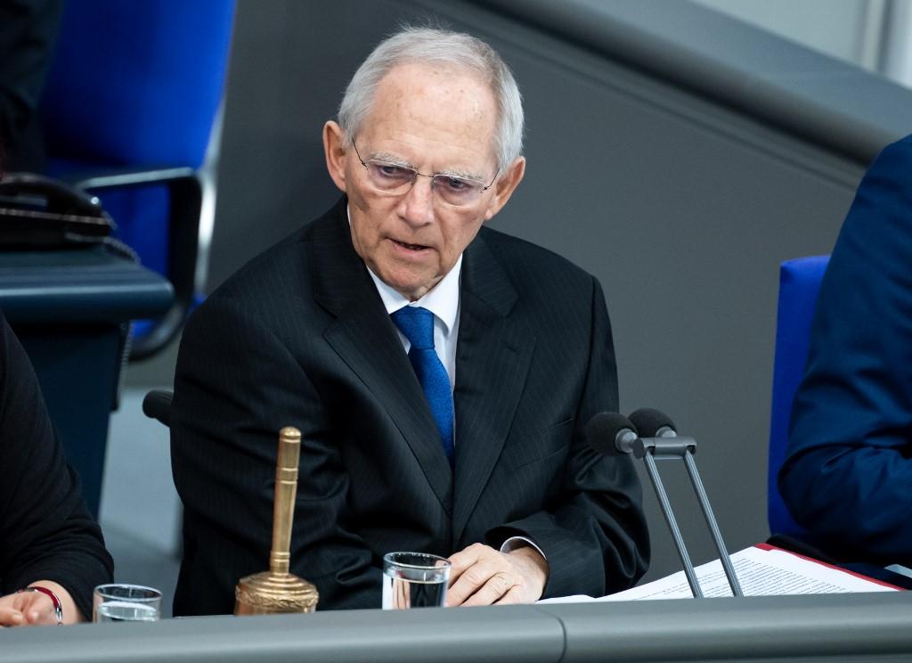 Predsjednik Bundestaga Wolfgan Schäuble