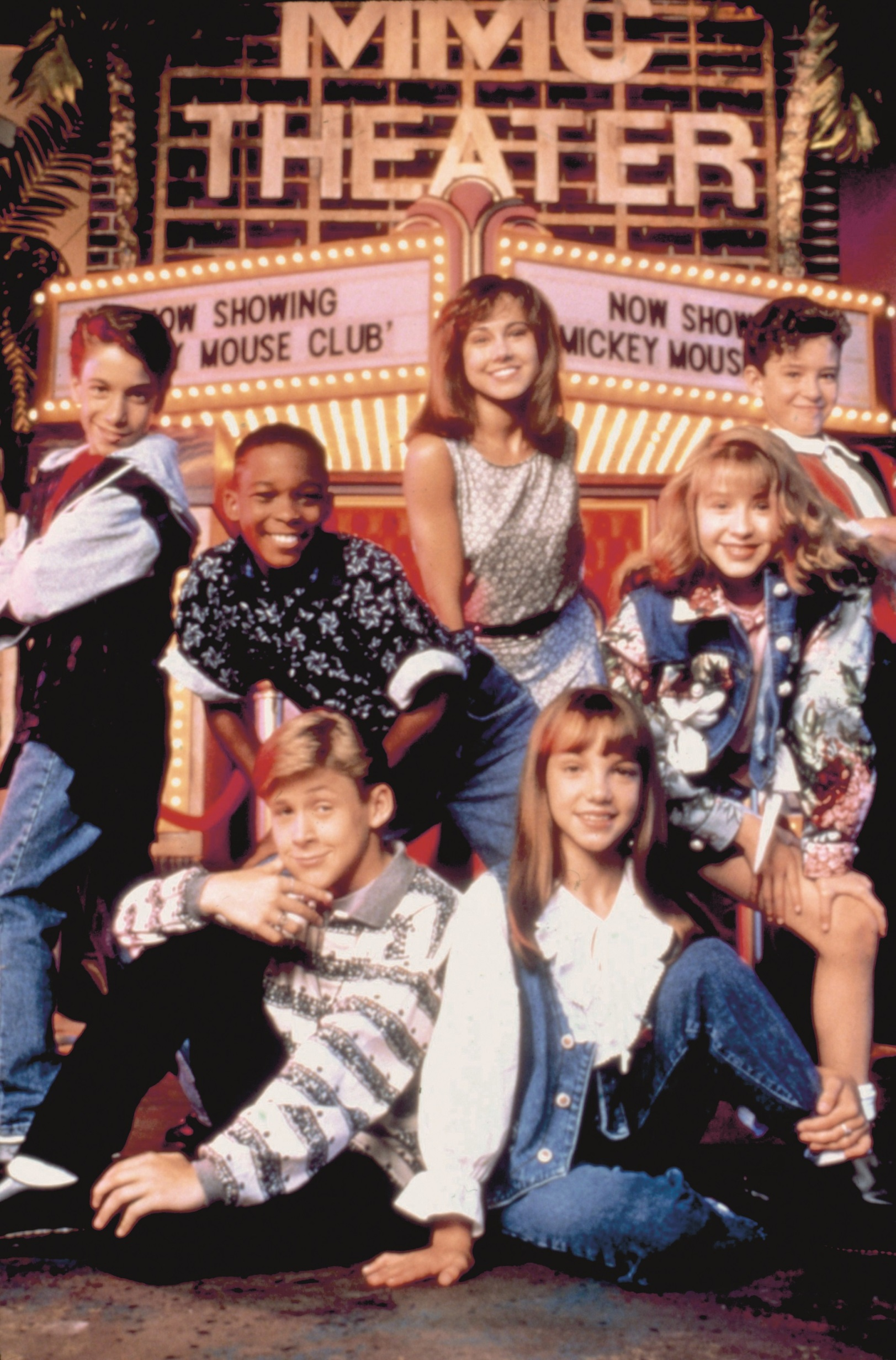 MICKEY MOUSE CLUB, (clockwise from upper center) Nikki DeLoach, Justin Timberlake, Christina Aguilera, Britney Spears, Ryan Gosling, T.J. Fantini, Tate Lynche, 1989-1994., Image: 99008313, License: Rights-managed, Restrictions: For usage credit please use; ©Buena Vista Pictures/Courtesy Everett Collection, Model Release: no, Credit line: Buena Vista Pictures/courtesy E / Everett / Profimedia