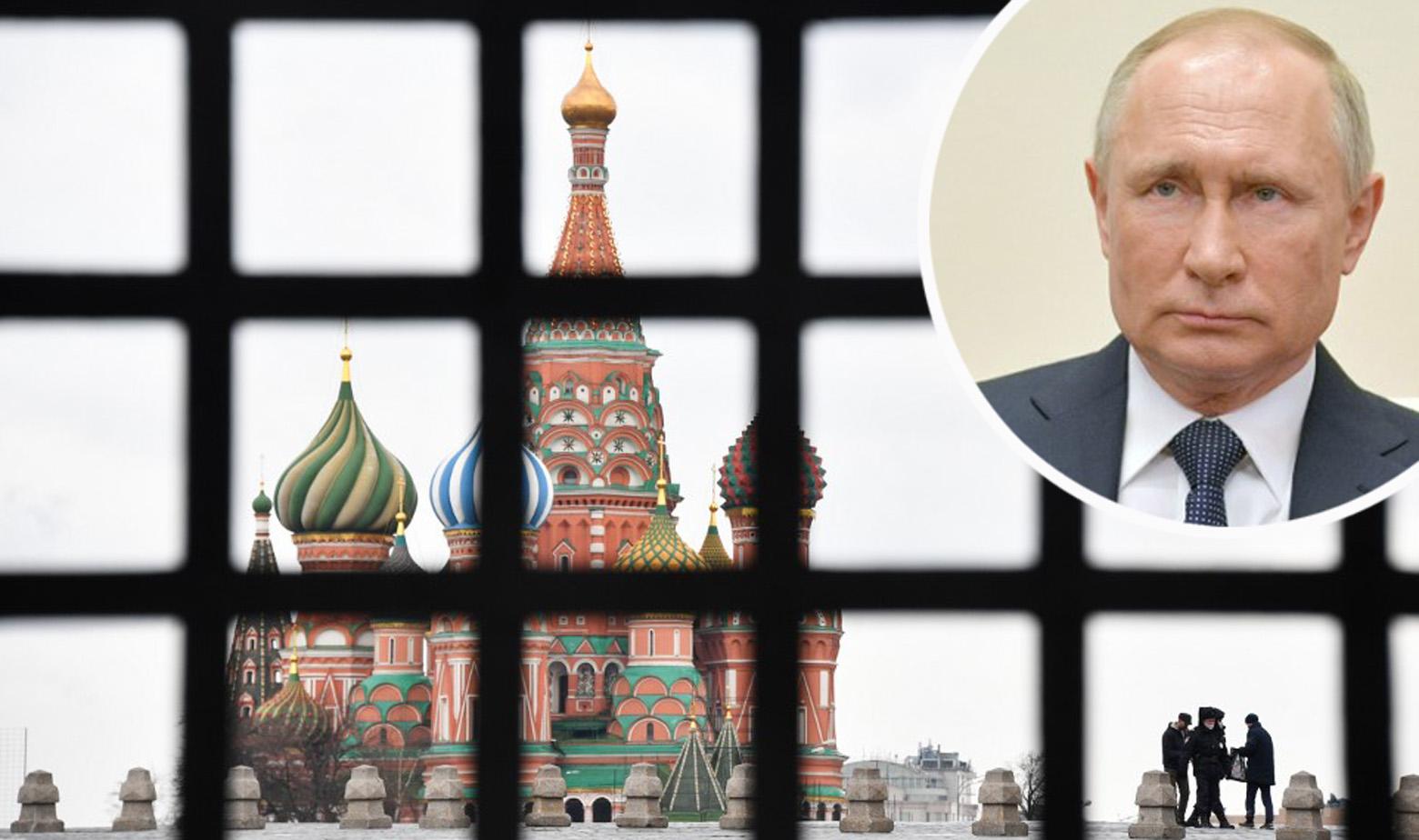 Crveni trg u Moskvi i Vladimir Putin