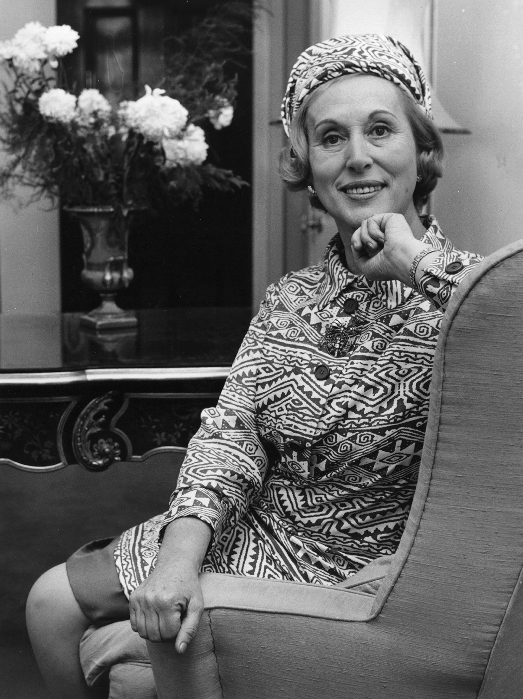 Estee Lauder, American beautician and businesswoman.    (Photo by Evening Standard/Getty Images)