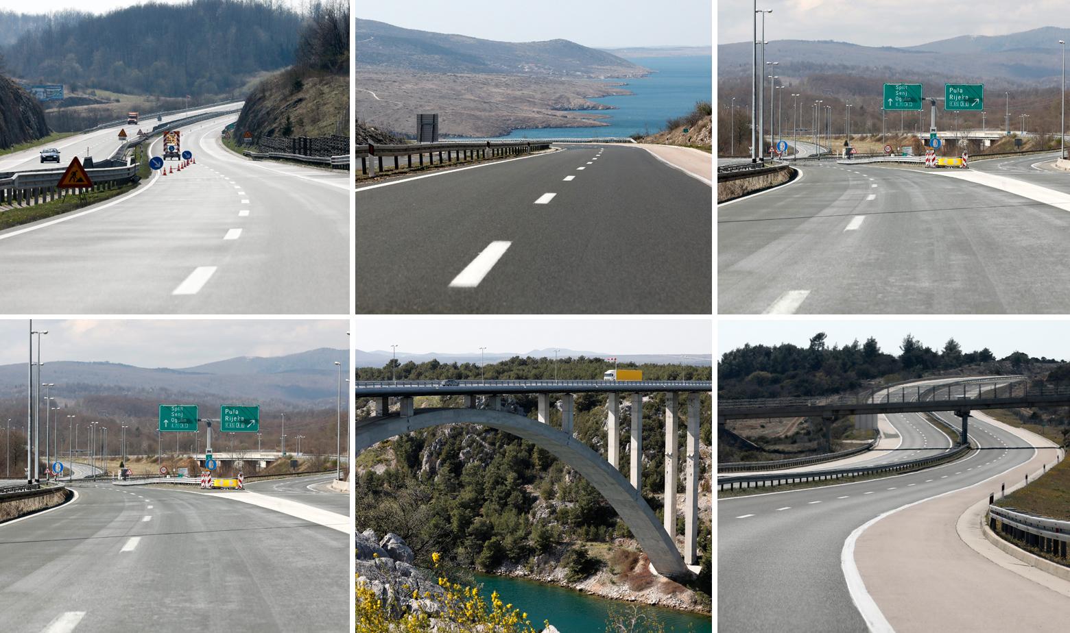 Prizori s autoceste A1
