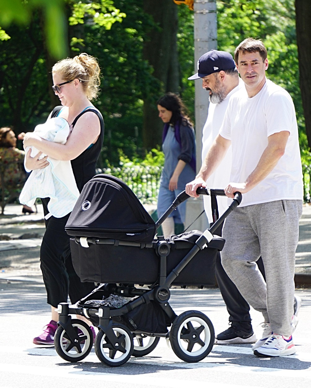 , New York, NY - 20190519 -  Amy Schumer and Chris Fischer out With Son Gene Attell Fischer on the Upper West Side  -PICTURED: Amy Schumer, Chris Fischer,Gene Attell Fischer -, Image: 434575716, License: Rights-managed, Restrictions: , Model Release: no, Credit line: Ken Katz / INSTAR Images / Profimedia