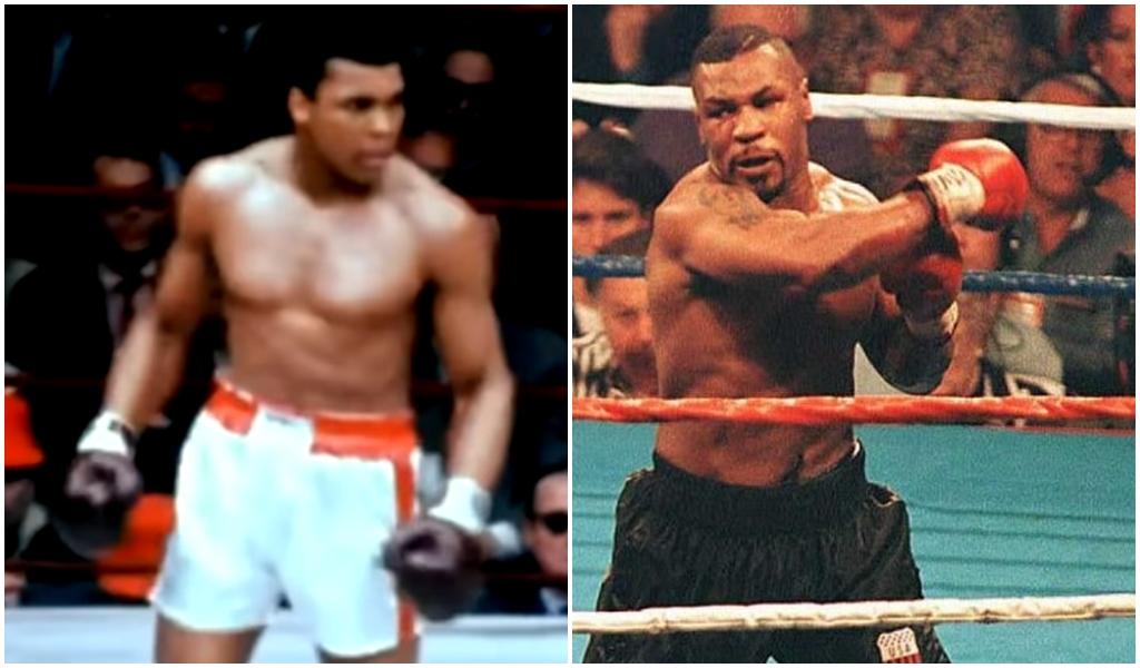 Ilustracija/ Muhammad Ali i Mike Tyson