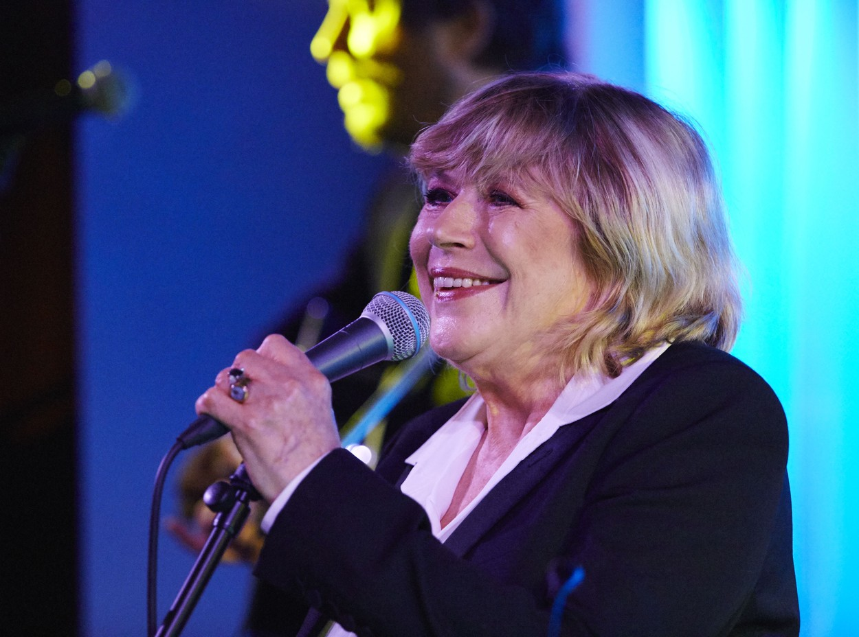 Editorial use only Mandatory Credit: Photo by Oliver Rudkin/REX (4232183x) Marianne Faithfull Marianne Faithfull in concert at Quaglino's, London, Britain - 05 Nov 2014, Image: 225091943, License: Rights-managed, Restrictions: Editorial use only, Model Release: no, Credit line: Oliver Rudkin / Shutterstock Editorial / Profimedia