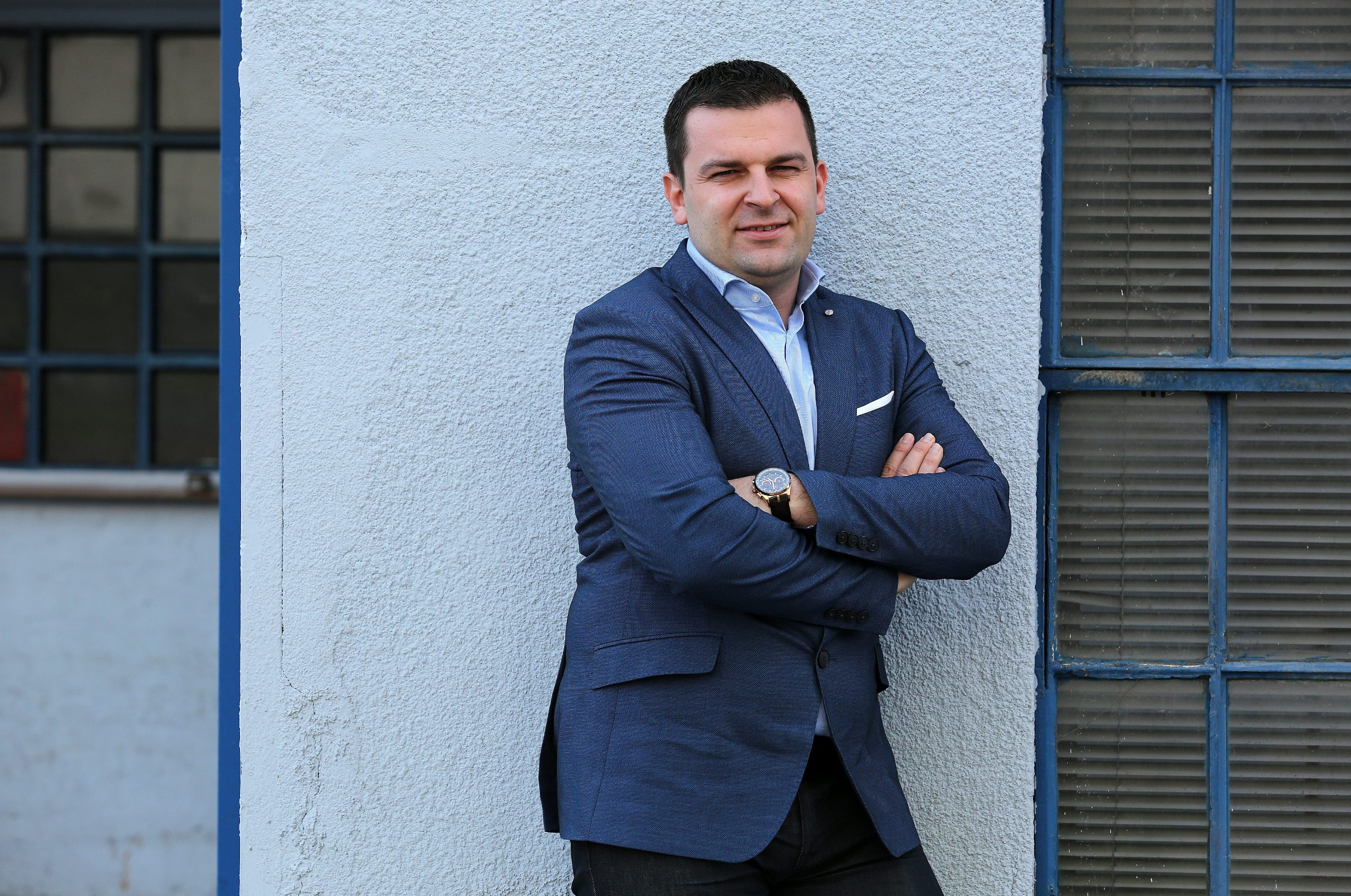 Predsjednik HSLS-a Dario Hrebak