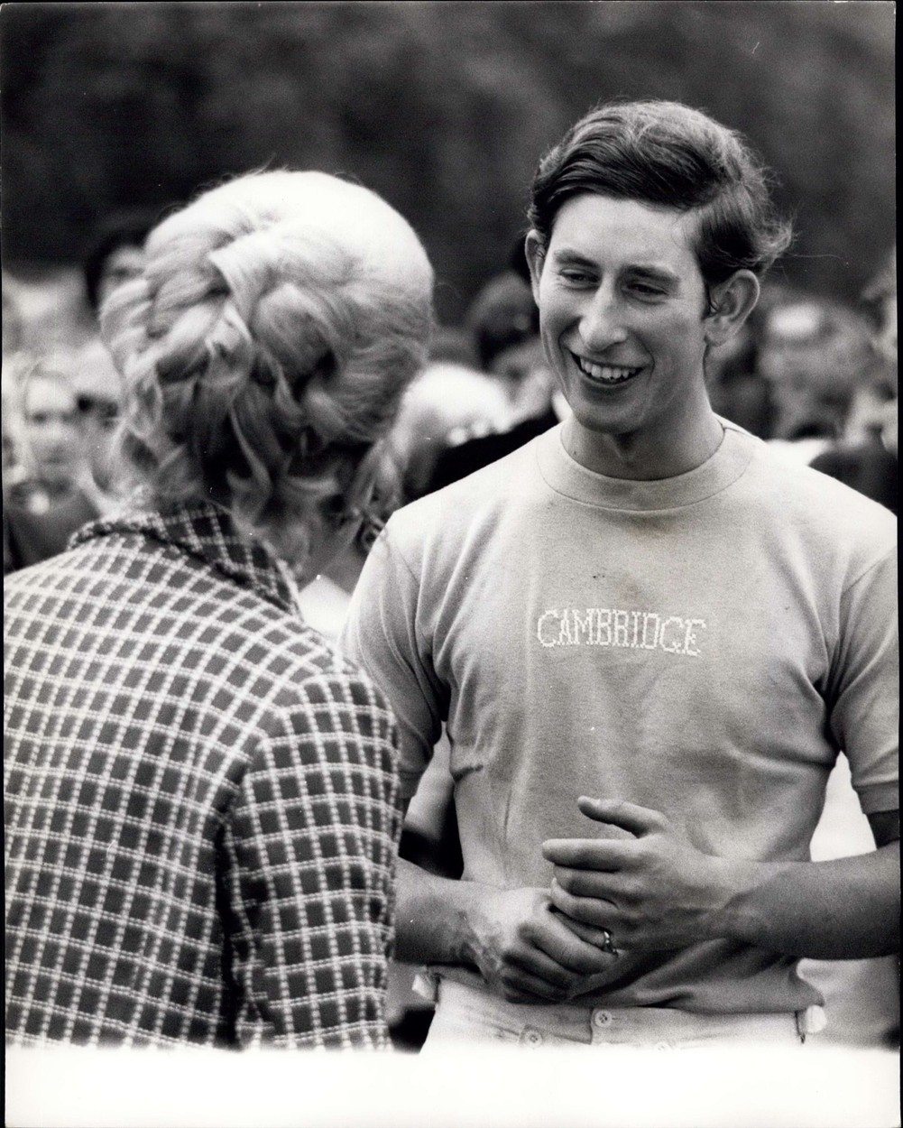 May 11, 1970 - May 11th, 1970 Prince Charles at Polo. Photo Shows: Prince Charles in the colours of Cambridge University, talks with friends after he had captained Cambridge University team to a 5-2 victory against Royal Agricultural College in yesterday's polo match at Cirencester Park, Elos., Image: 209868844, License: Rights-managed, Restrictions: , Model Release: no, Credit line: Keystone Pictures USA / Zuma Press / Profimedia