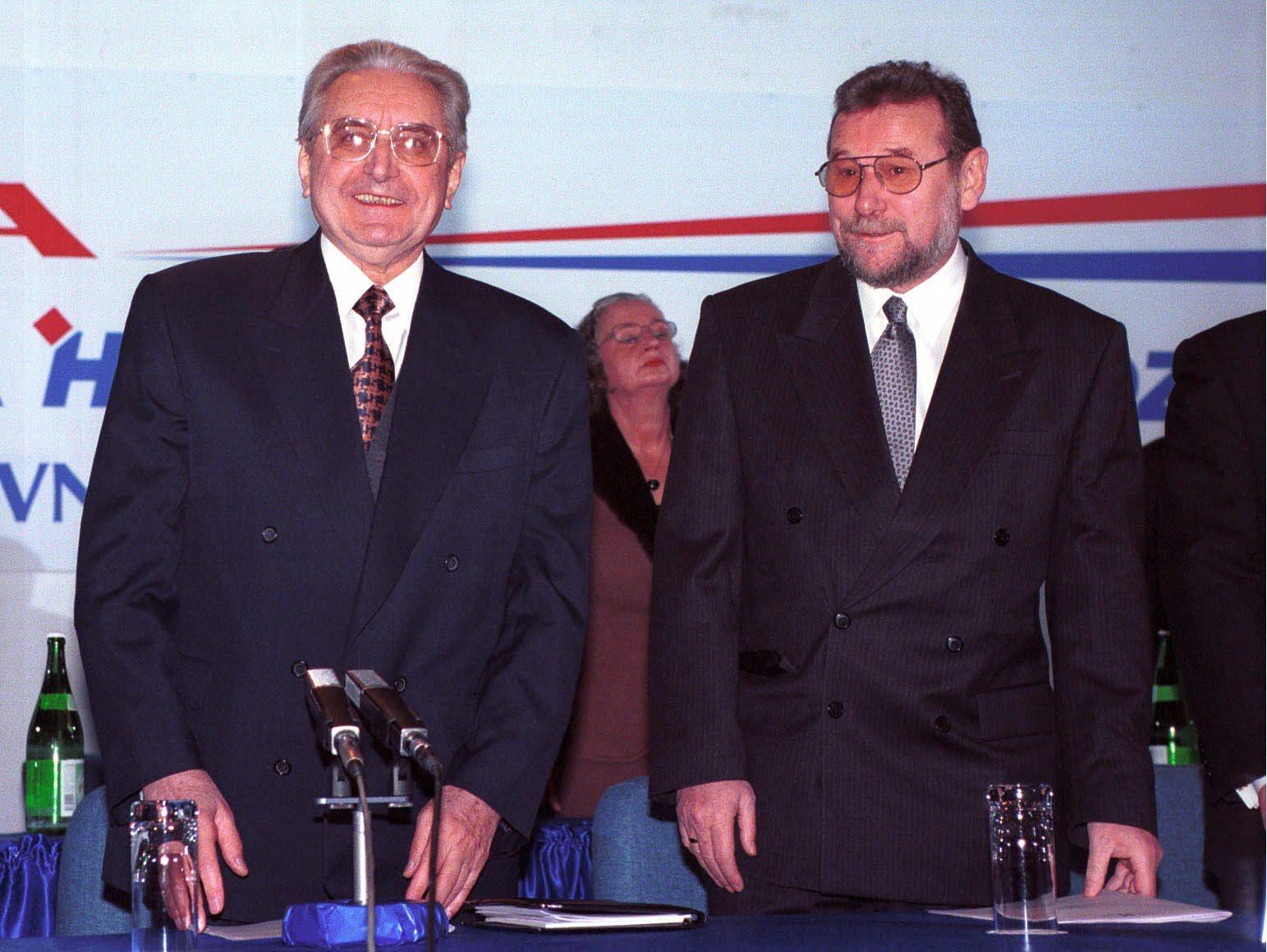 Franjo Tuđman, Vladimir Šeks