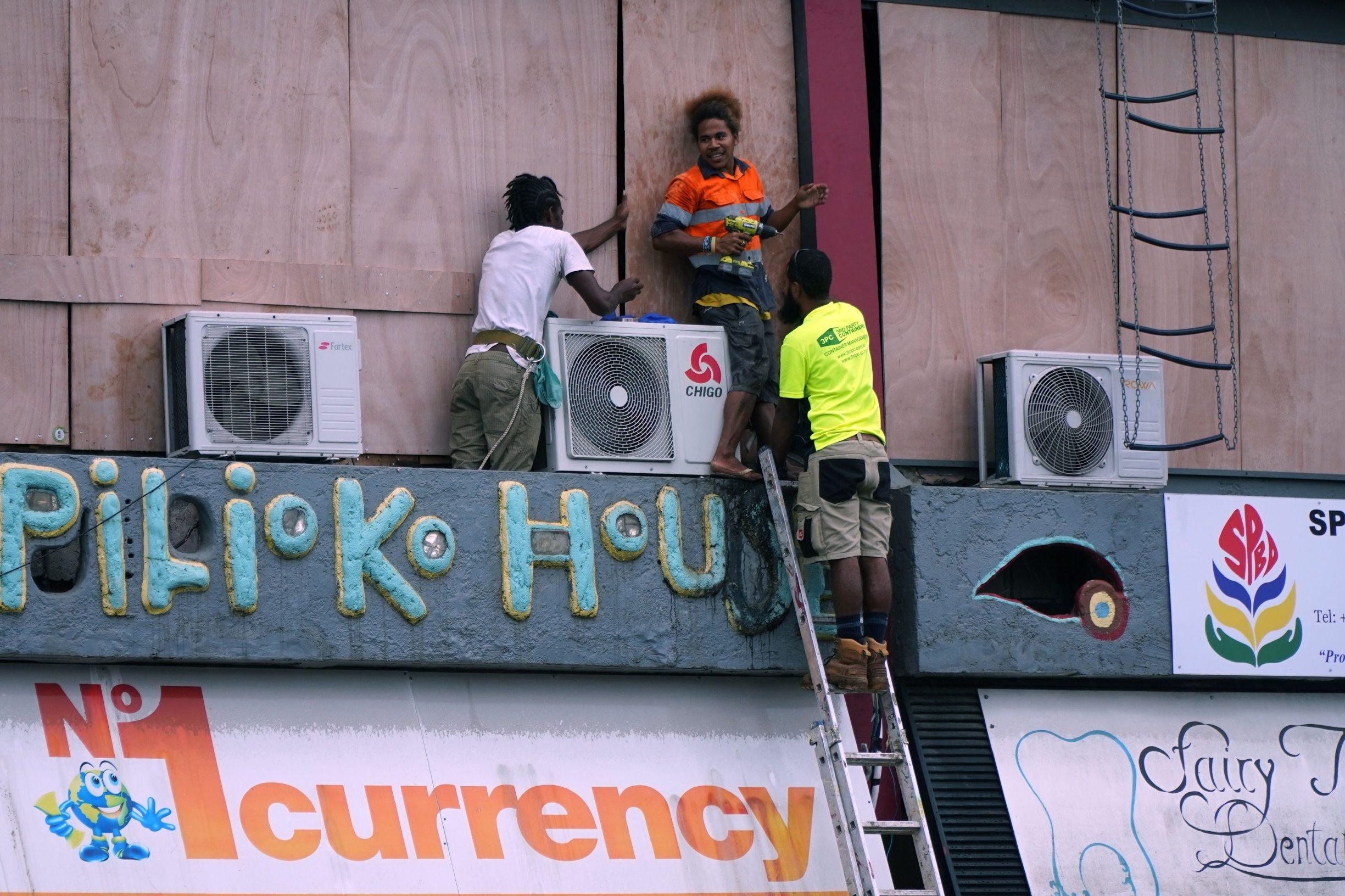 Građana Porta Vile uoči udara tropskog ciklona Harolda
