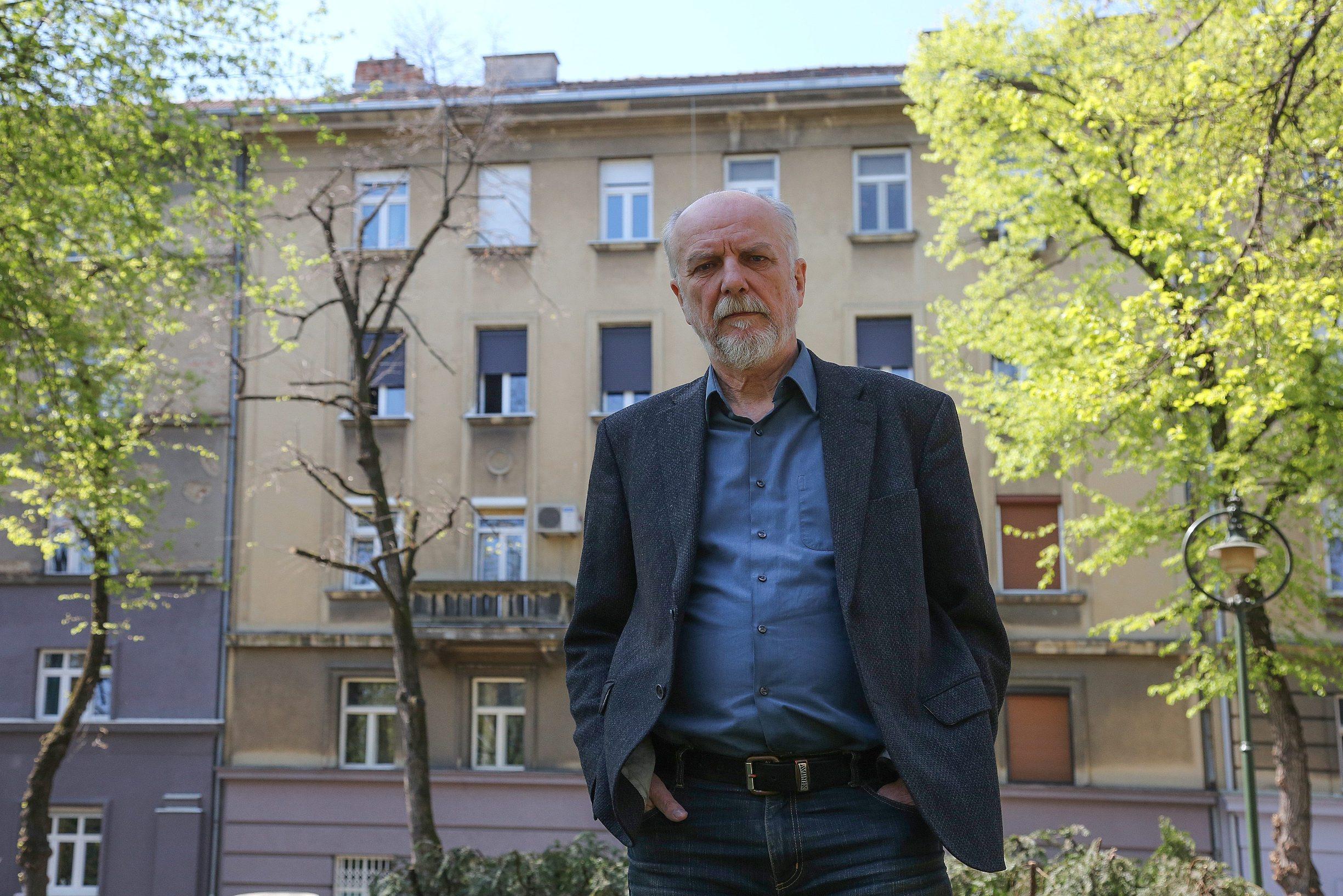 Predstavnik stanara Davor Mekić