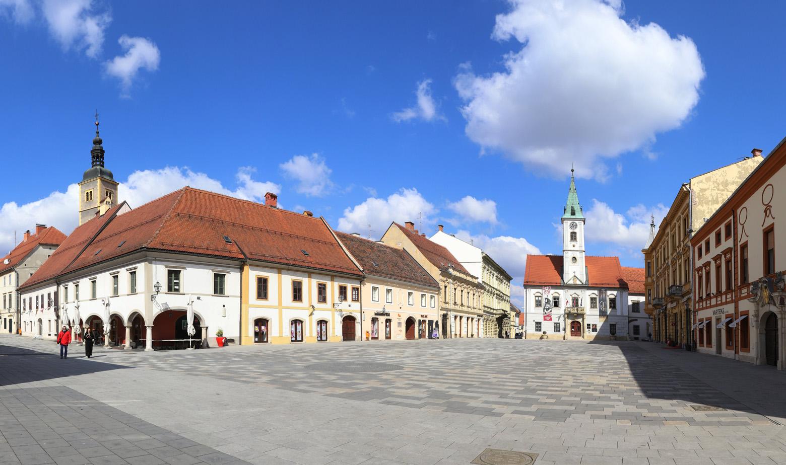Varaždin, panorama