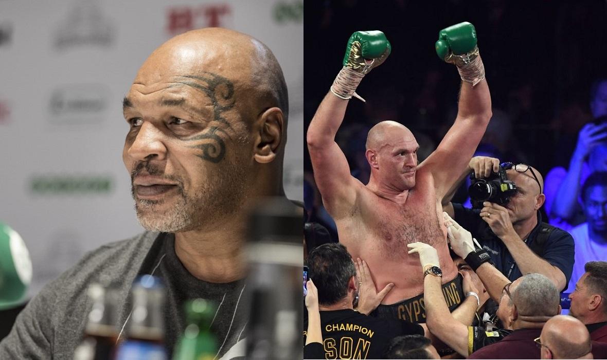 Mike Tyson i Tyson Fury