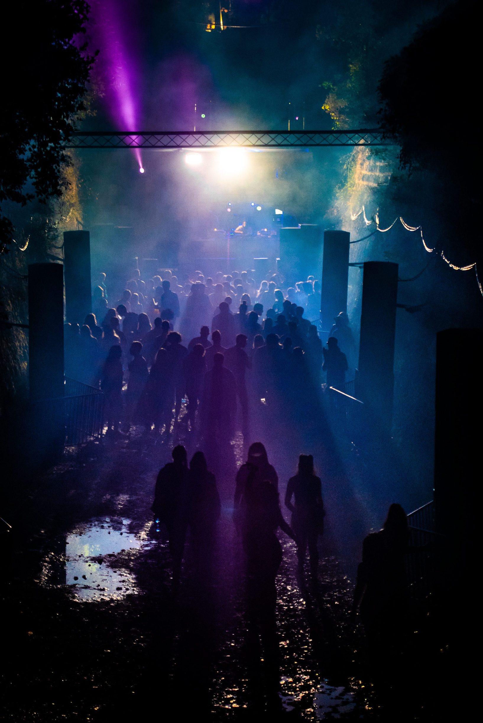 Stinjan, 070918.  Drugi dan 11. izdanja Outlook festivala na tvrdavi Punta Christo u Stinja na kojem nastupaju najpoznatija imena reggae, dubstep, jungle i bass glazbe. Foto: Danijel Bartolic / CROPIX