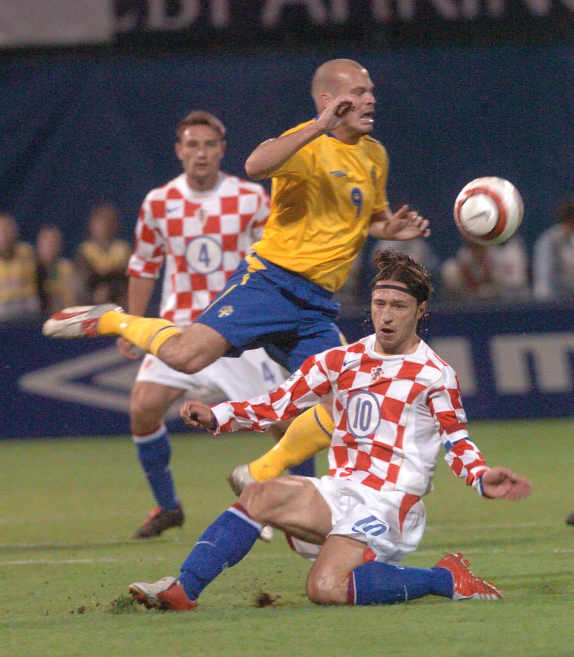 08.10.2005. Hrvatska - Svedska 1 - 0   Niko Kovac , Ljungberg   snimio N Dugi