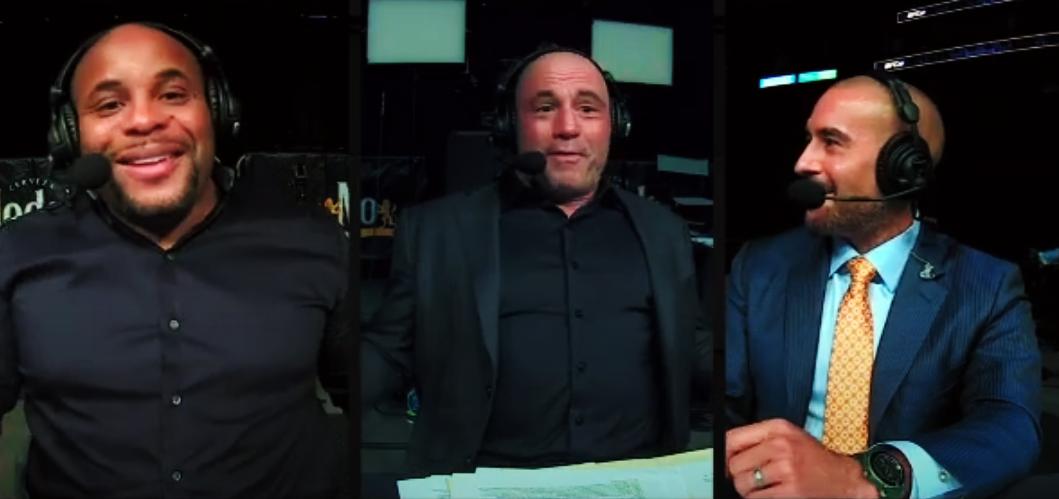Daniel Cormier, Joe Rogan i Jon Anik