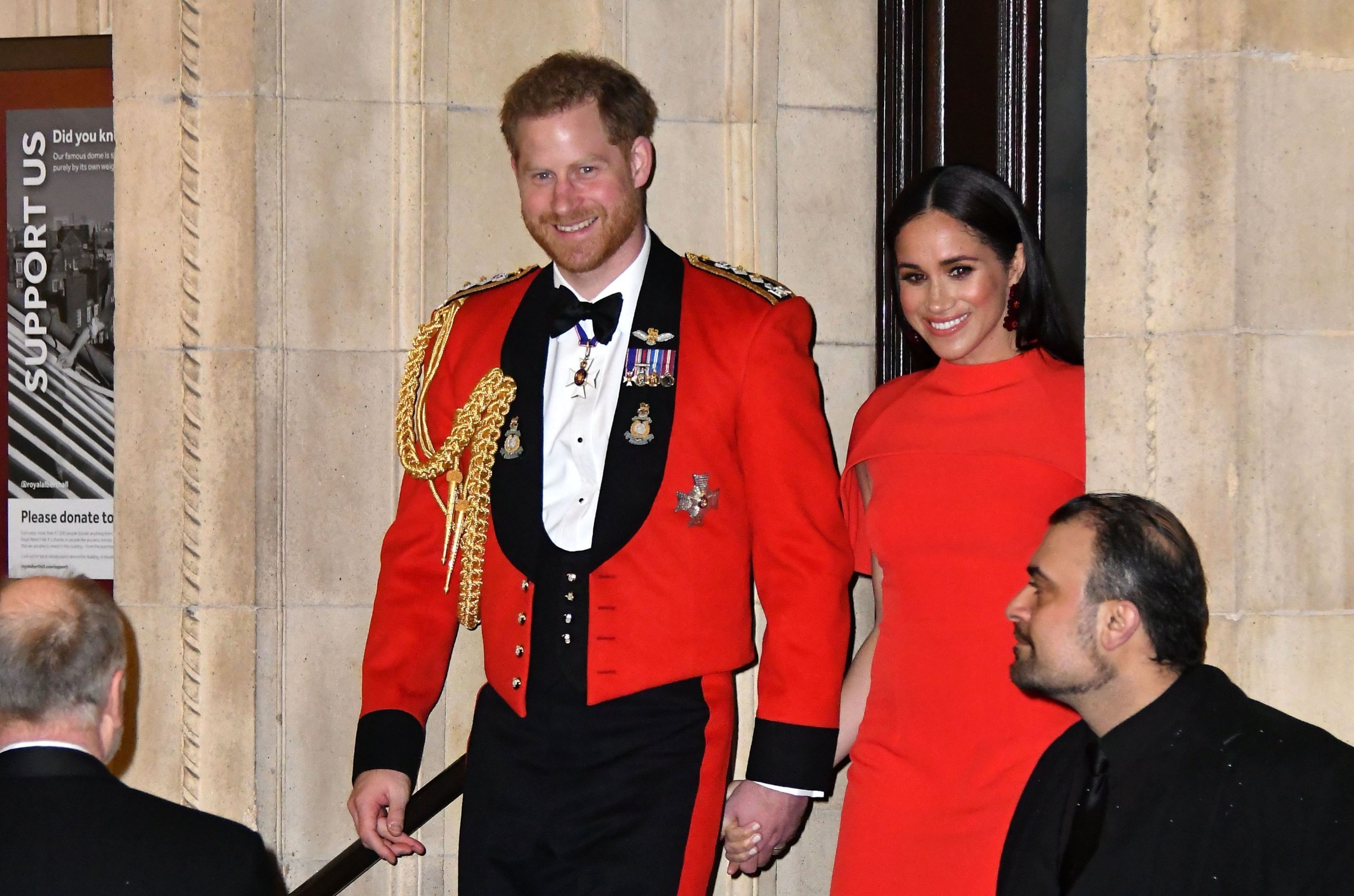 Meghan Duchess of Sussex and Prince Harry Mountbatten Festival of Music at the Royal Albert Hall, London, UK - 07 Mar 2020, Image: 504422726, License: Rights-managed, Restrictions: , Model Release: no, Credit line: Nils Jorgensen / Shutterstock Editorial / Profimedia