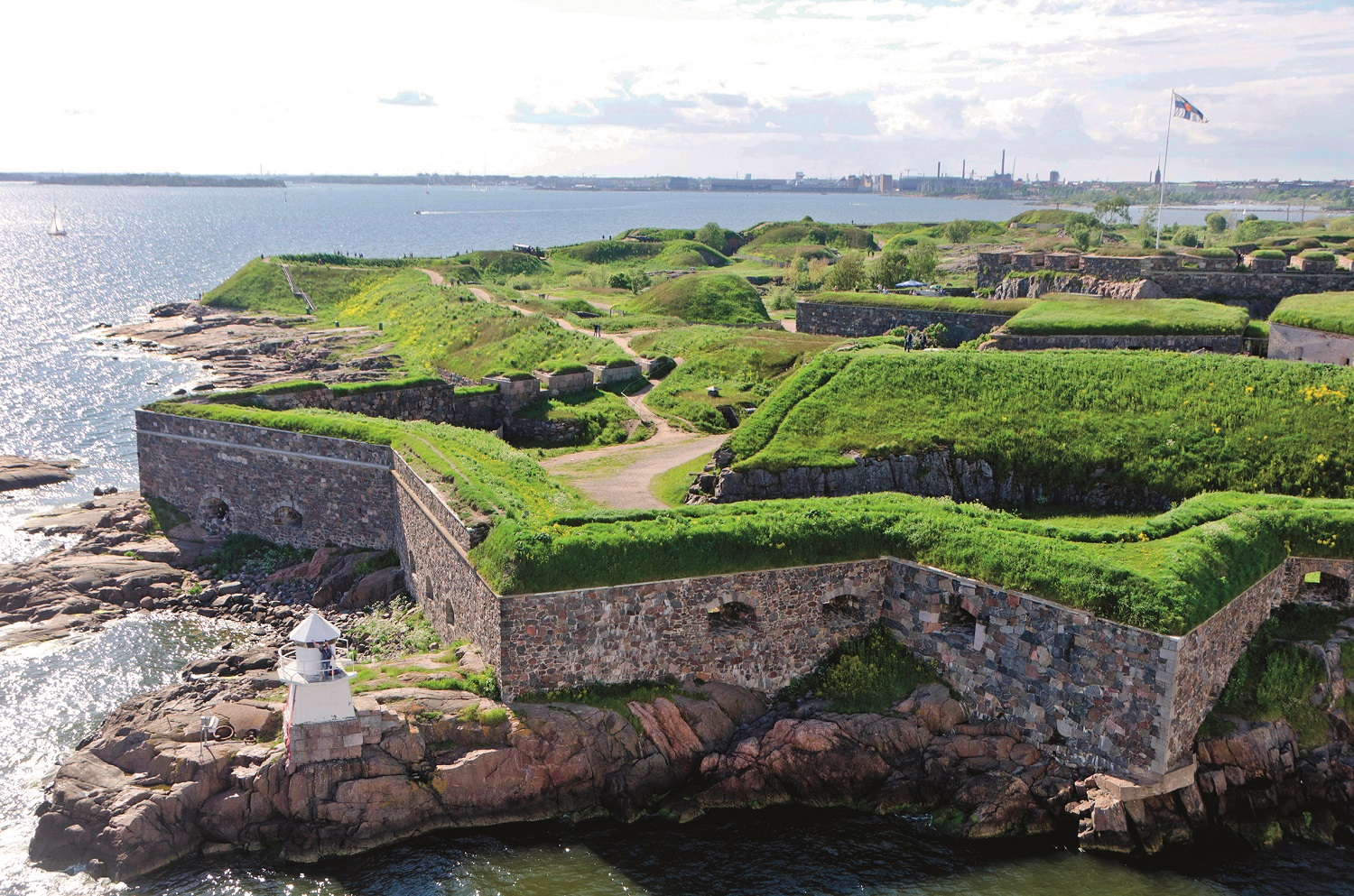 Star shaped fortress, Suomenlinna Island, Helsinki, Finland, Scandinavia, Europe, Image: 159501848, License: Rights-managed, Restrictions: , Model Release: no, Credit line: Geoff  Marshall / Alamy / Alamy / Profimedia