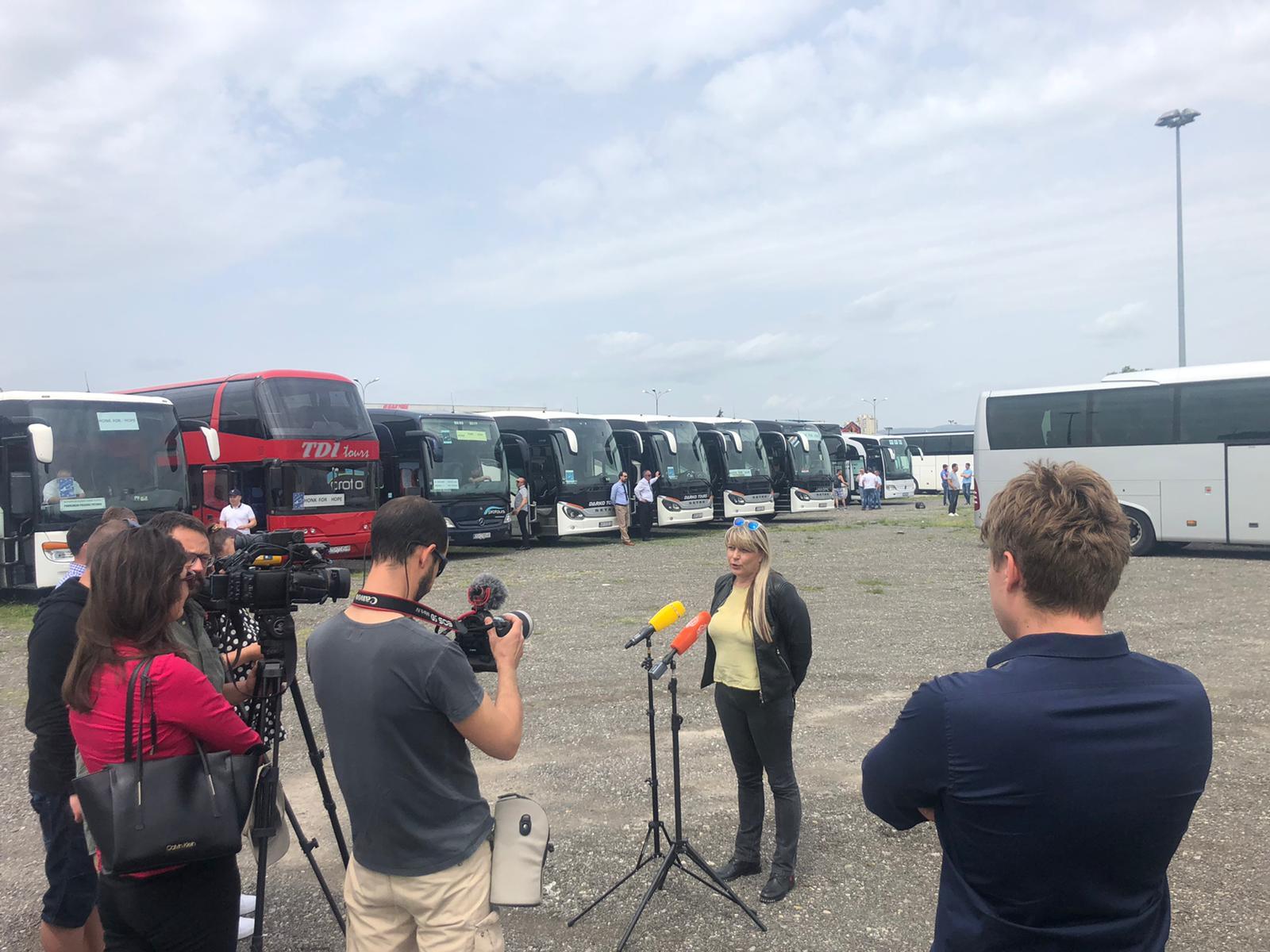Inicijativa Povremenog Prijevoza Putnika (PPP) u prosvjedu