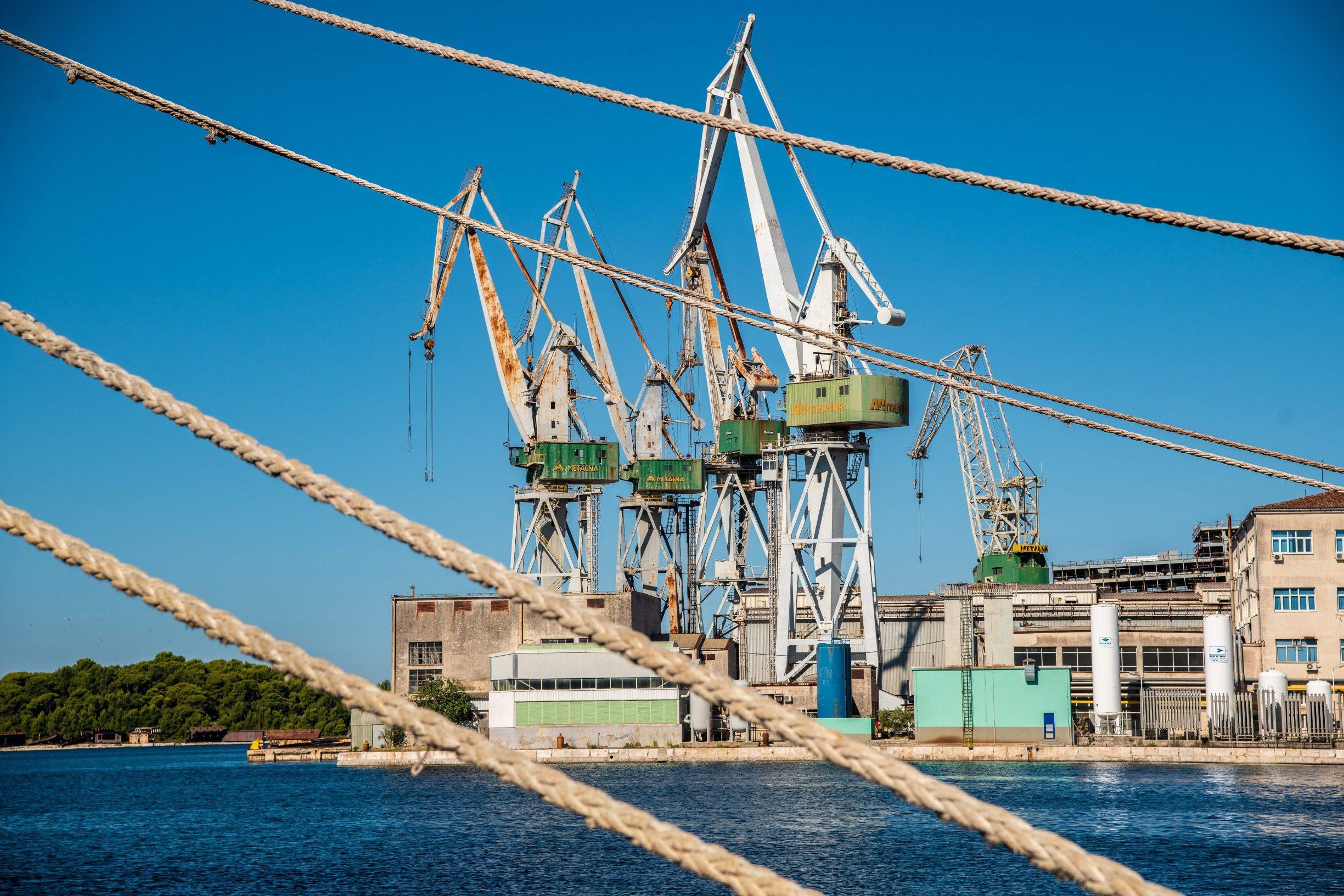 Pula,  130919.  Brodogradiliste Uljanik. Foto: Danijel Bartolic / CROPIX