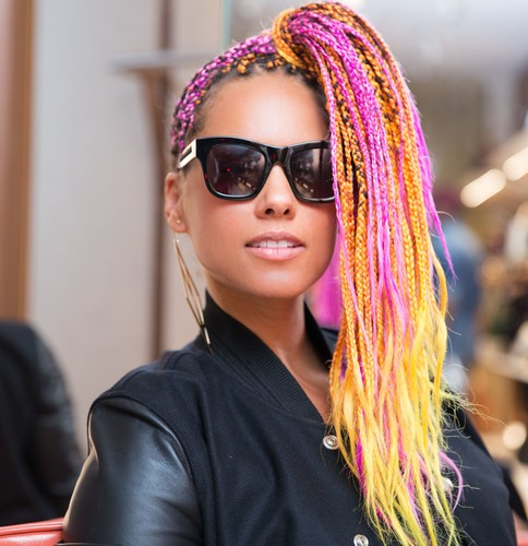 Alicia Keys Bally by Swizz Beatz, Bally, New York, USA - 26 Sep 2017, Image: 351354061, License: Rights-managed, Restrictions: , Model Release: no, Credit line: Your Name/BFA / Shutterstock Editorial / Profimedia