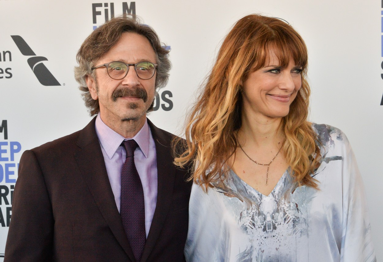 Marc Maron and Lynn Shelton attend the 35th annual Film Independent Spirit Awards in Santa Monica, California on Saturday, February 8, 2020.  UPI Photo /UPI, Image: 497261653, License: Rights-managed, Restrictions: , Model Release: no, Credit line: JIM RUYMEN / UPI / Profimedia